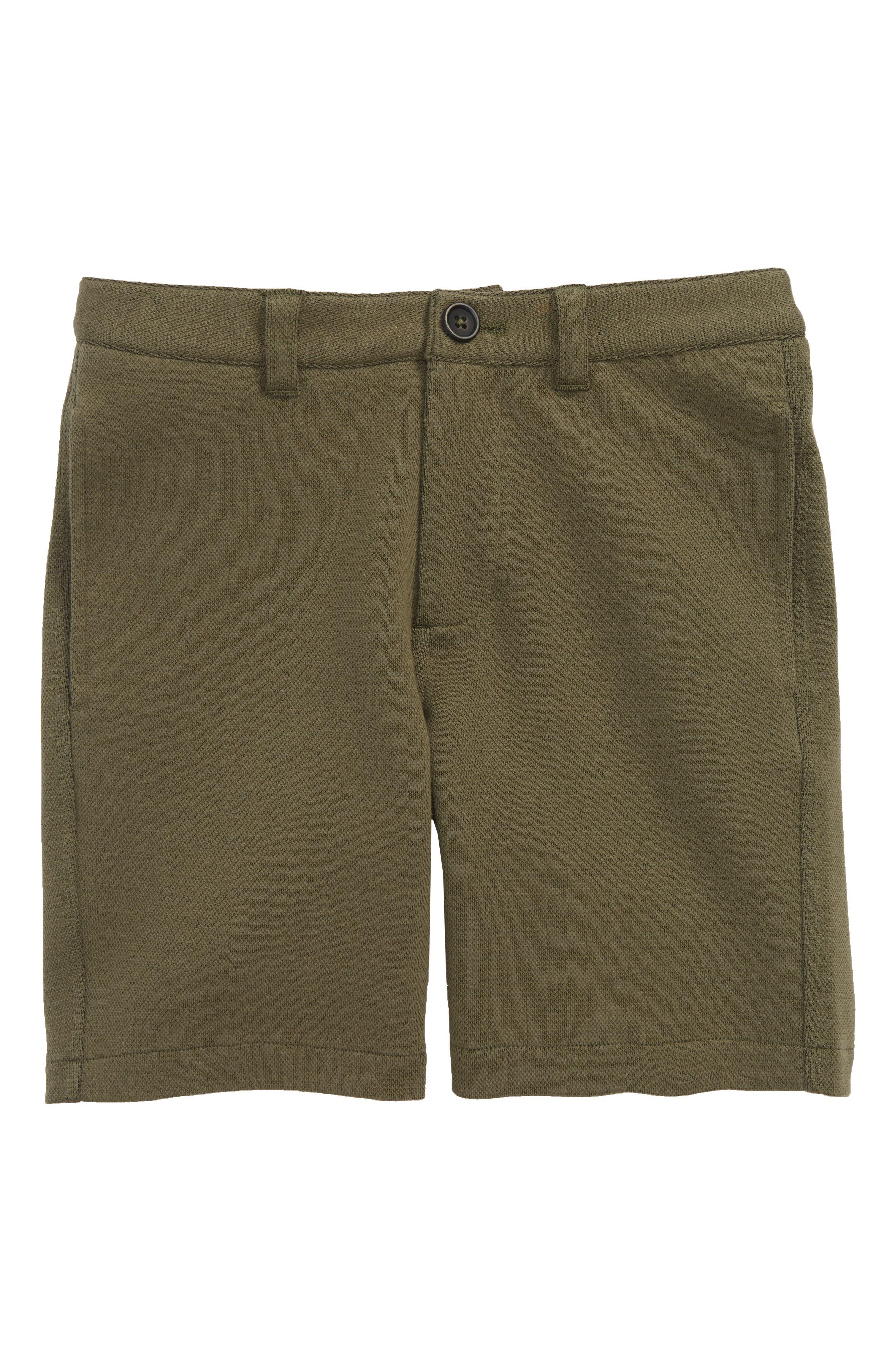 Mini Boden Jersey Chino Shorts (Toddler Boys, Little Boys & Big Boys)