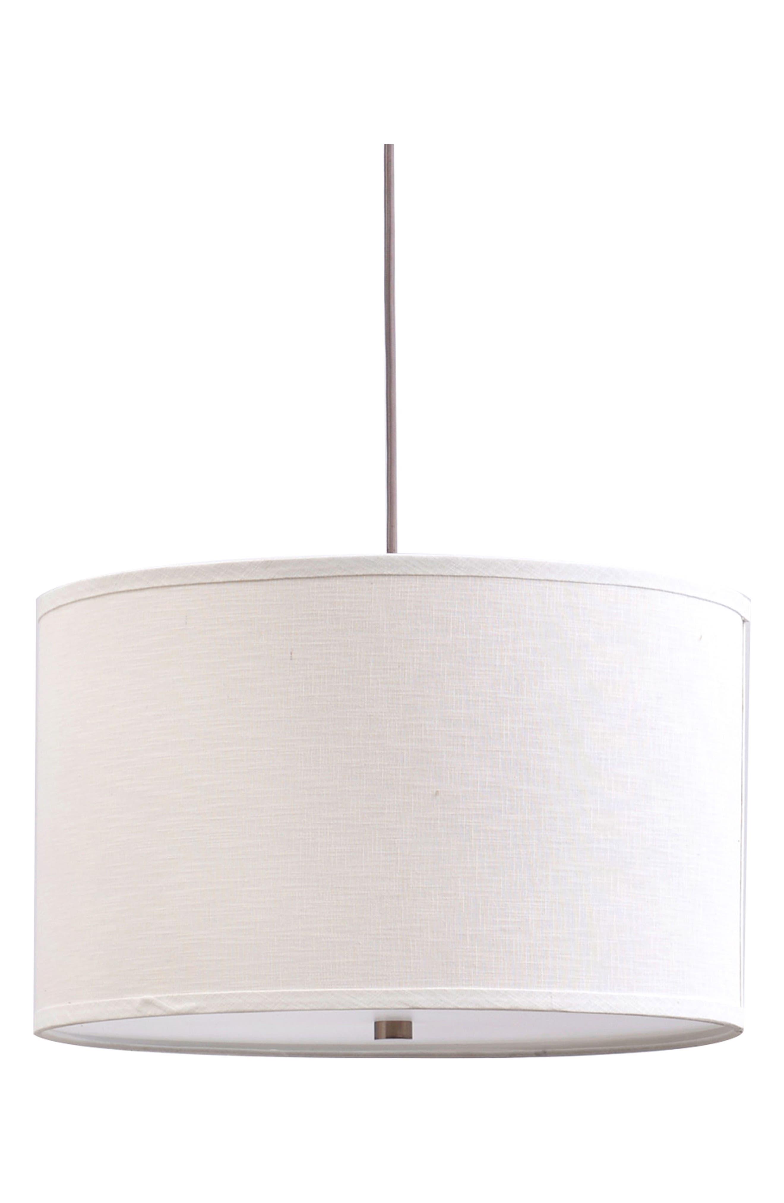 Madison Three-Light Pendant Lamp,                         Main,                         color, Bronze