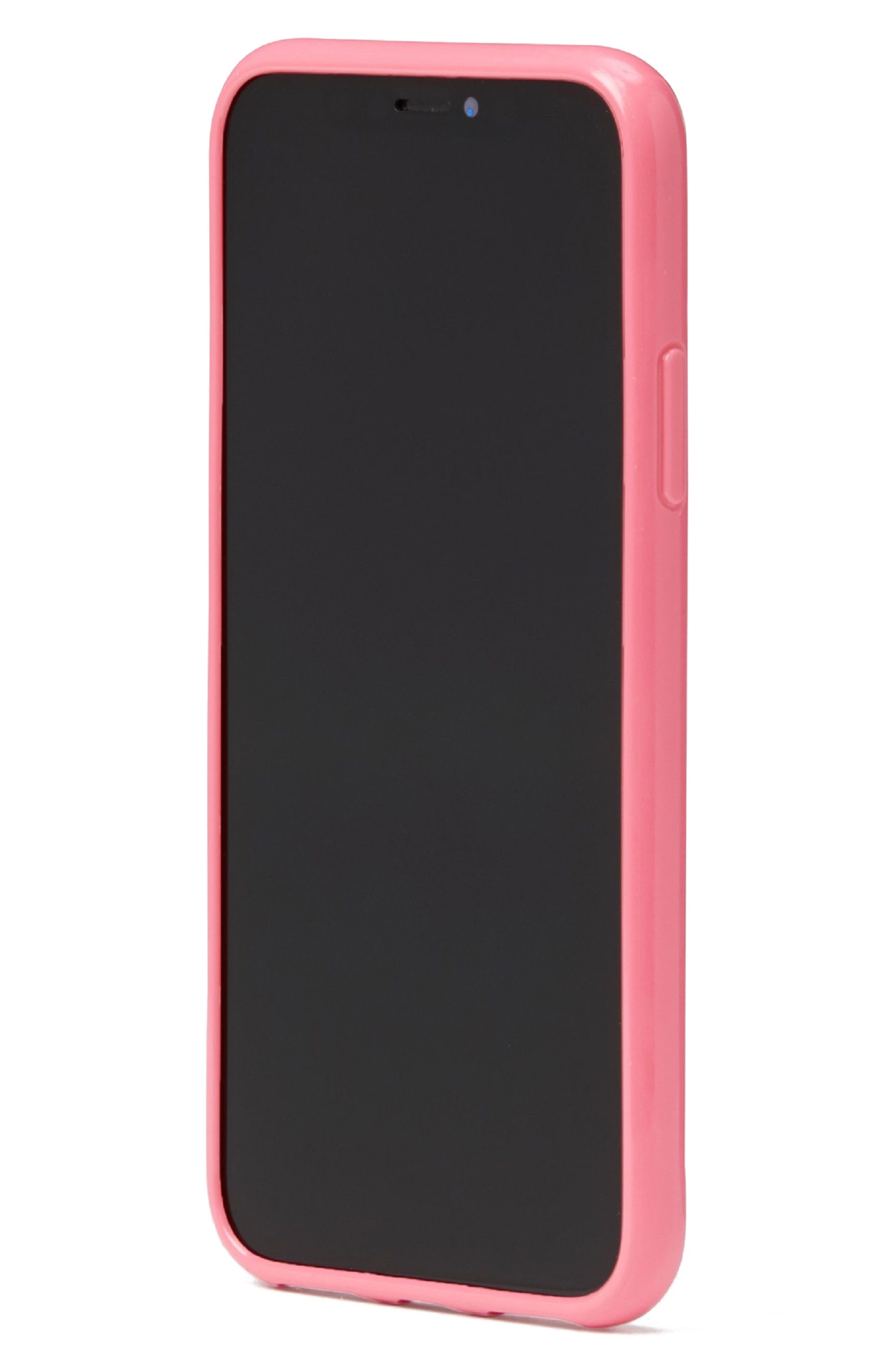 blossom iPhone X case,                             Alternate thumbnail 3, color,                             Clear Multi