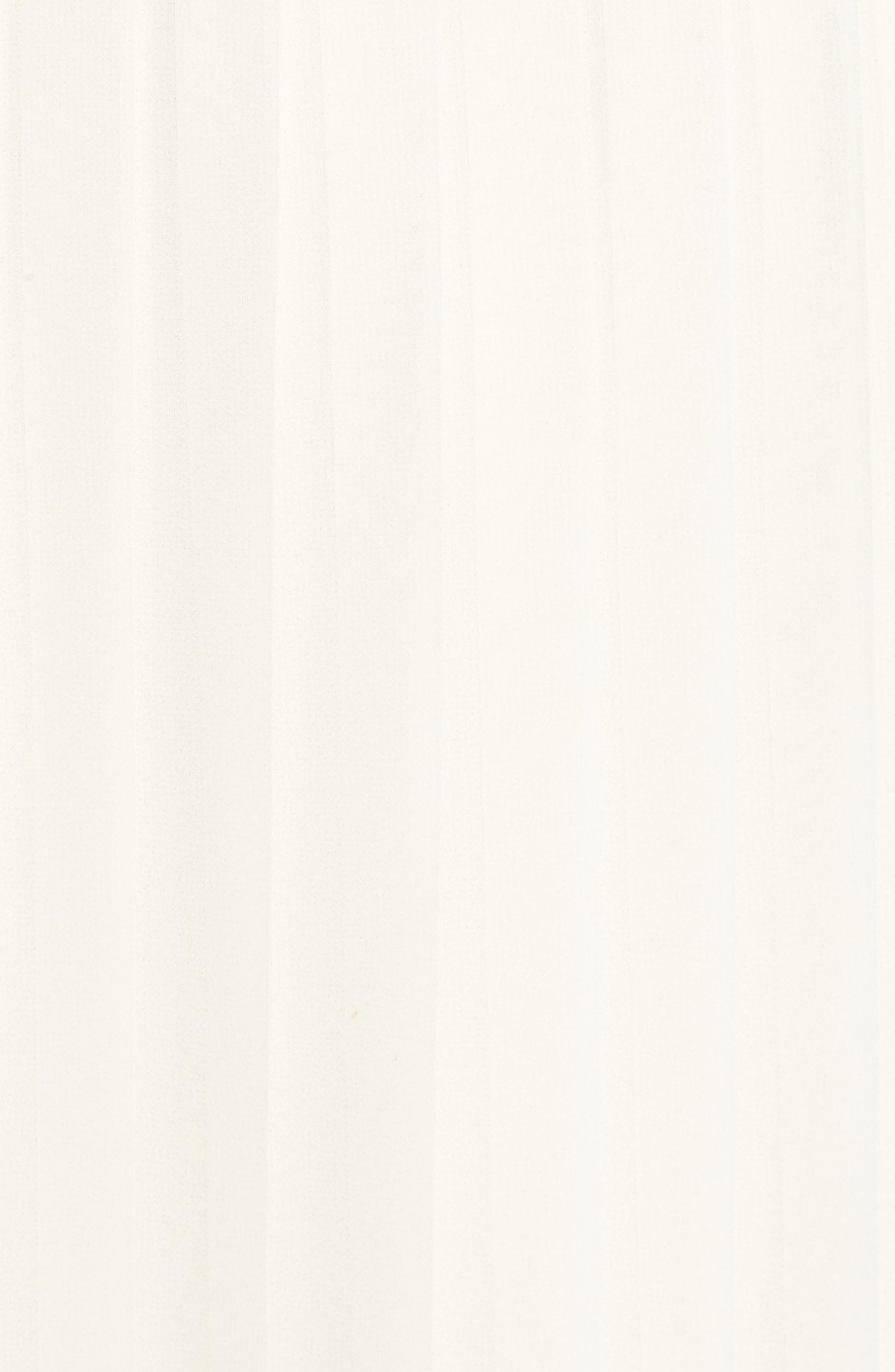 Deena Pleated Dress,                             Alternate thumbnail 6, color,                             Ivory