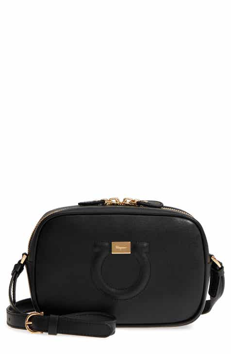 Salvatore Ferragamo Gancio Leather Camera Bag 7fbab509becdb