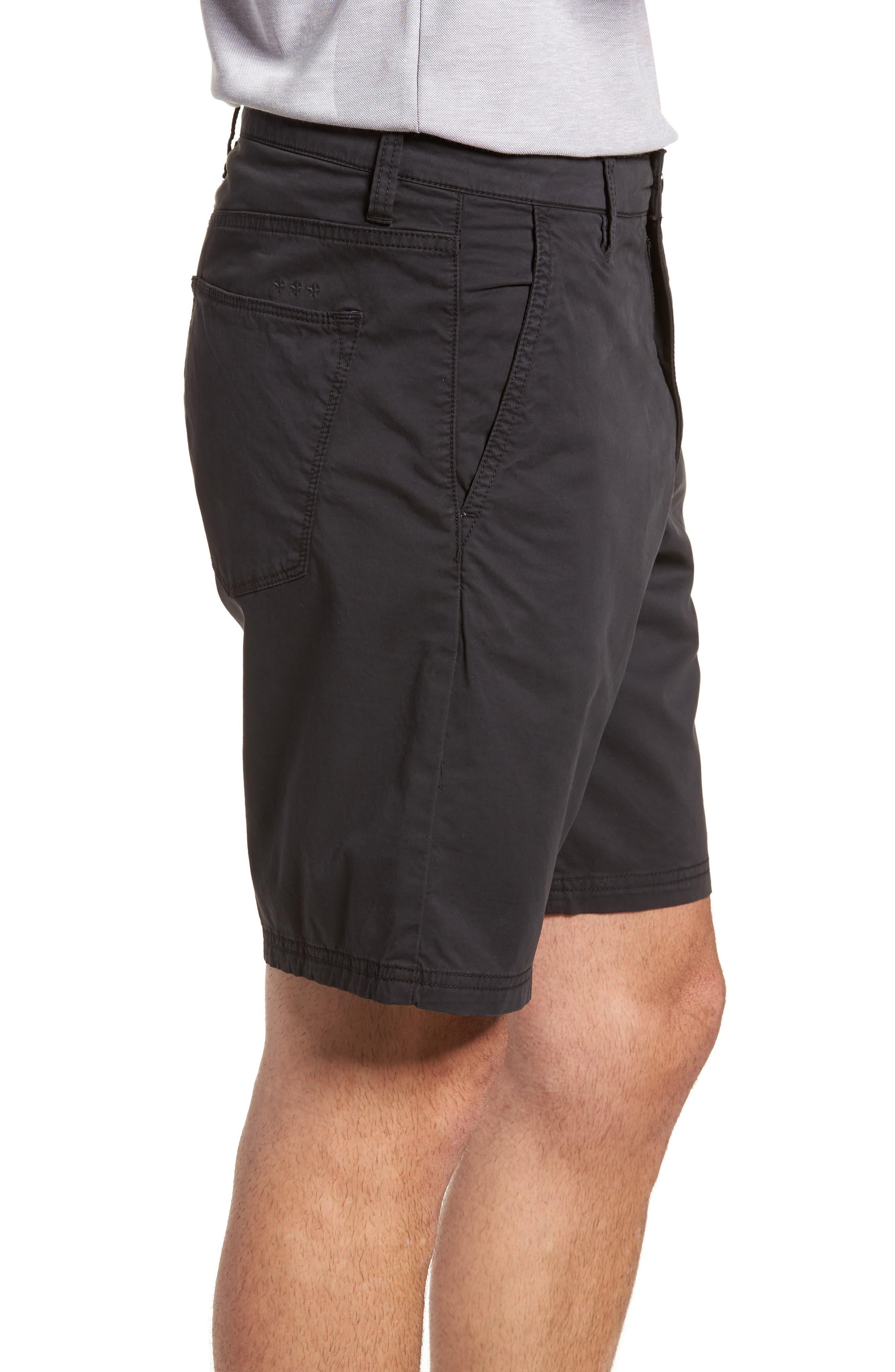 Casual Shorts,                             Alternate thumbnail 3, color,                             Black