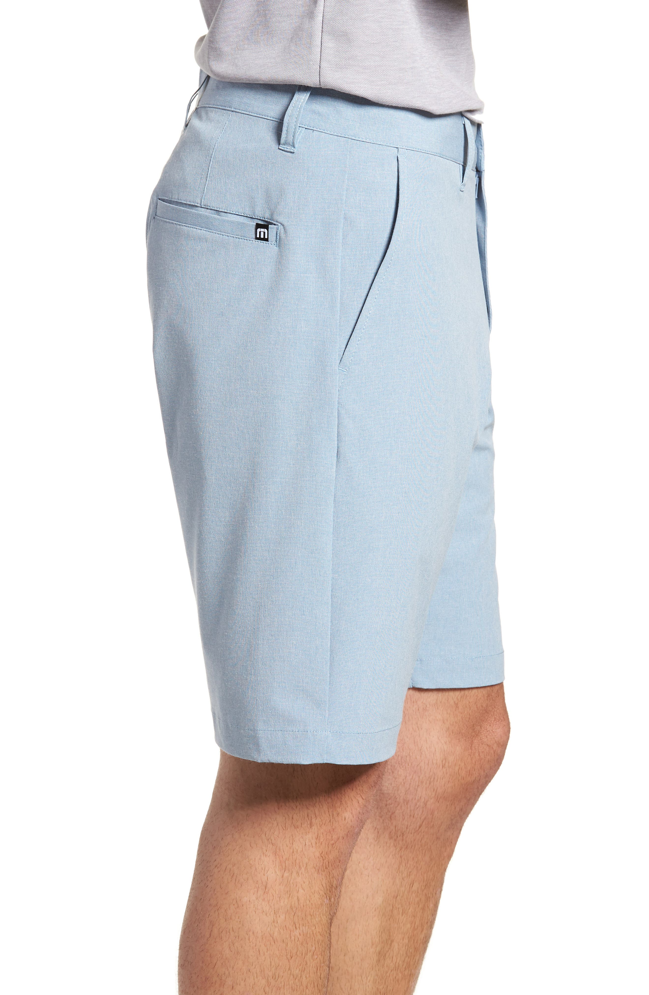 Beck Stretch Performance Shorts,                             Alternate thumbnail 3, color,                             Blue