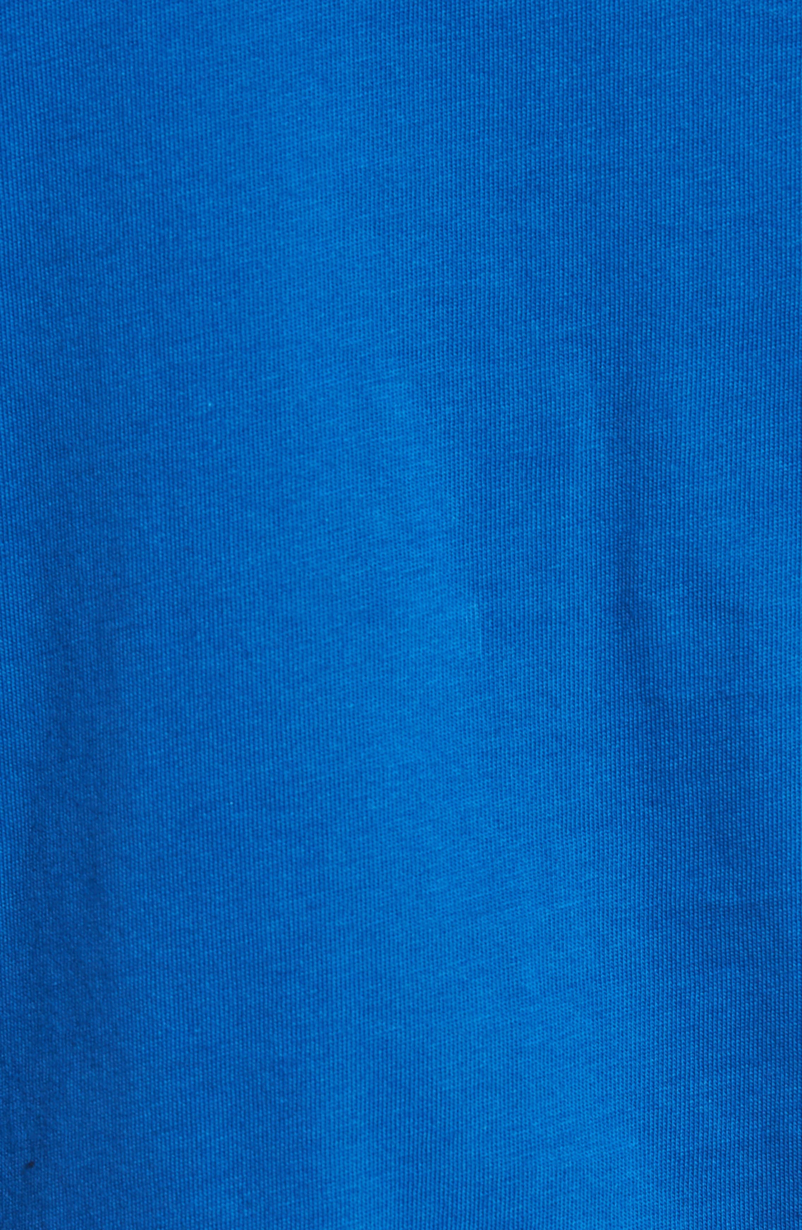 Crewneck T-Shirt,                             Alternate thumbnail 5, color,                             Electric/ Marino