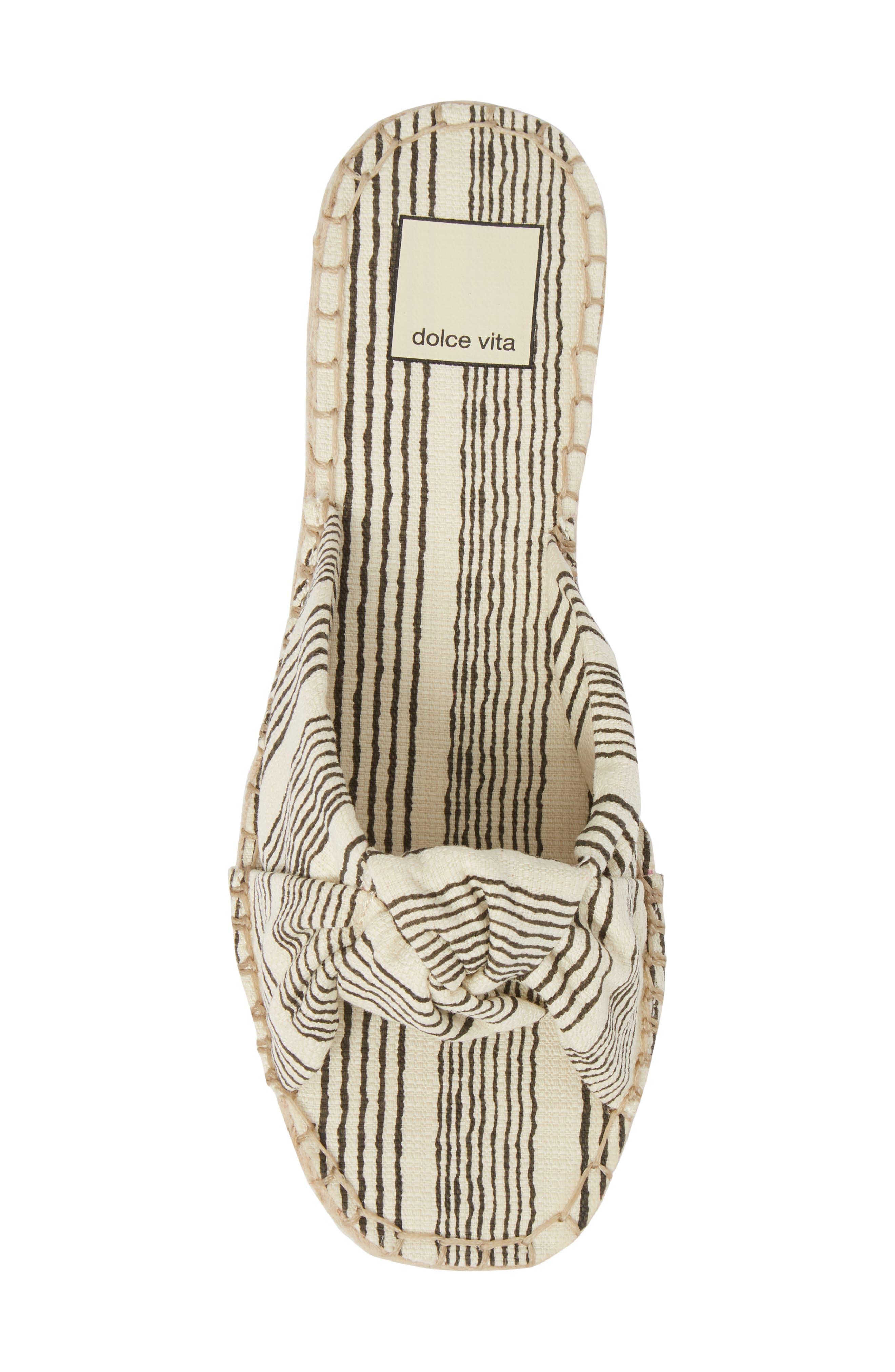 Alternate Image 5  - Dolce Vita Benicia Knotted Slide Sandal (Women)