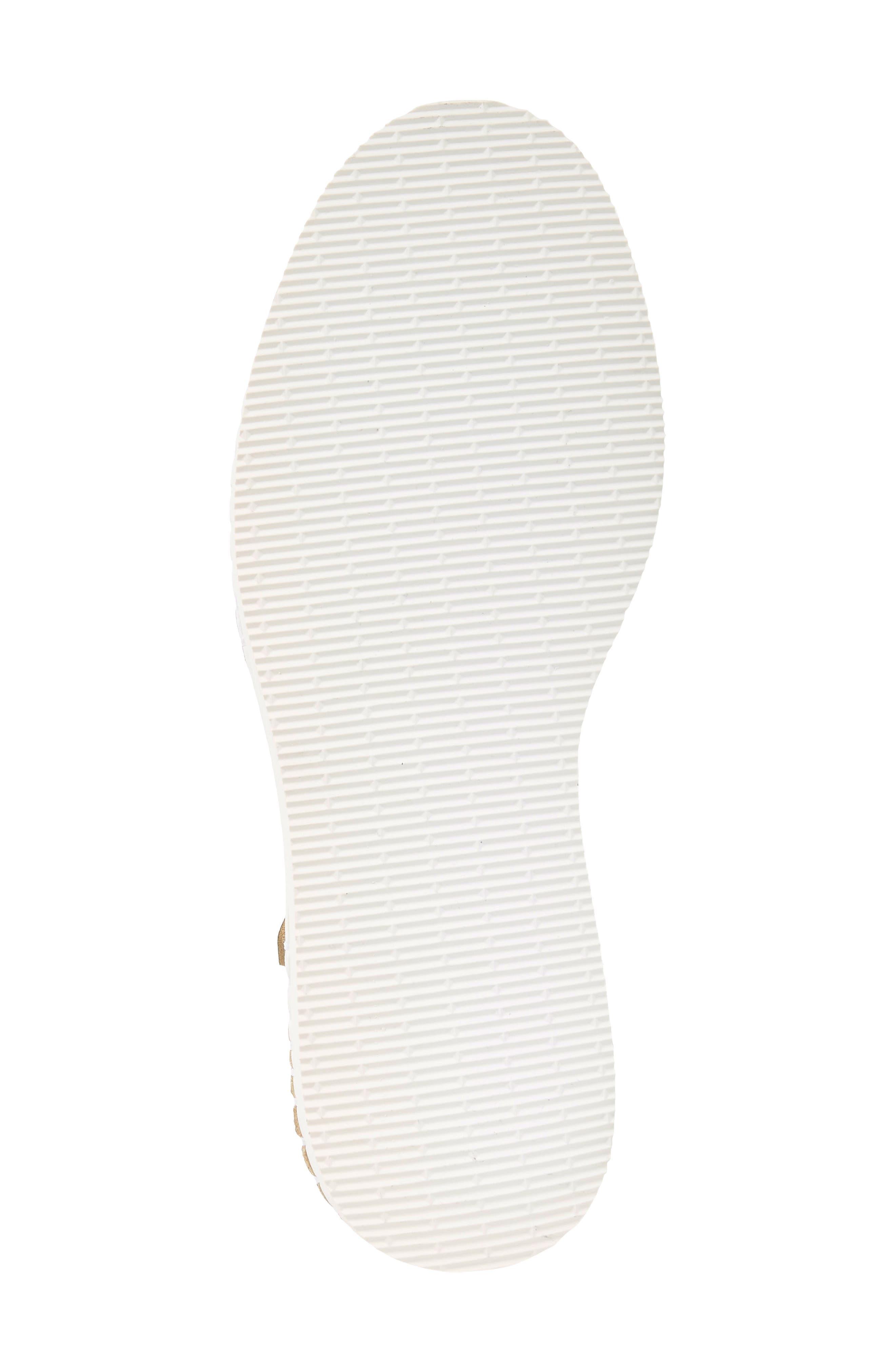 Flatform Fashion Sandal,                             Alternate thumbnail 6, color,                             Golden