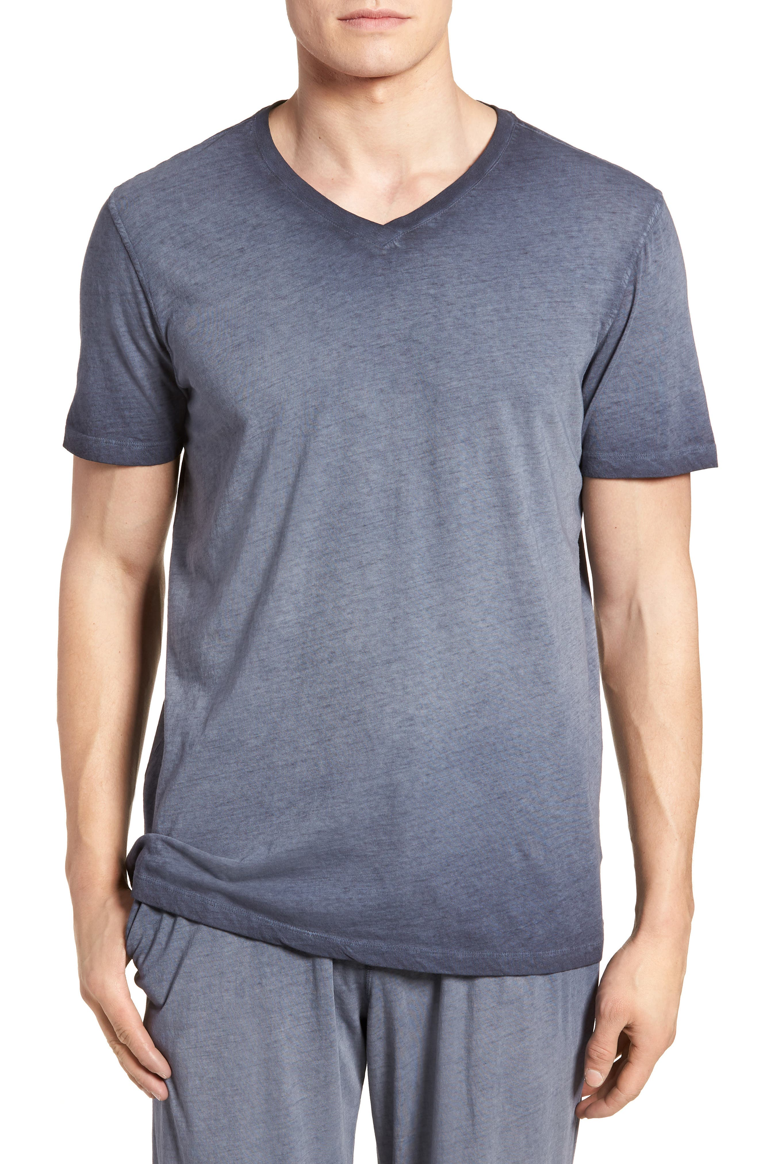 Daniel Buchler Vintage Wash Cotton T-Shirt