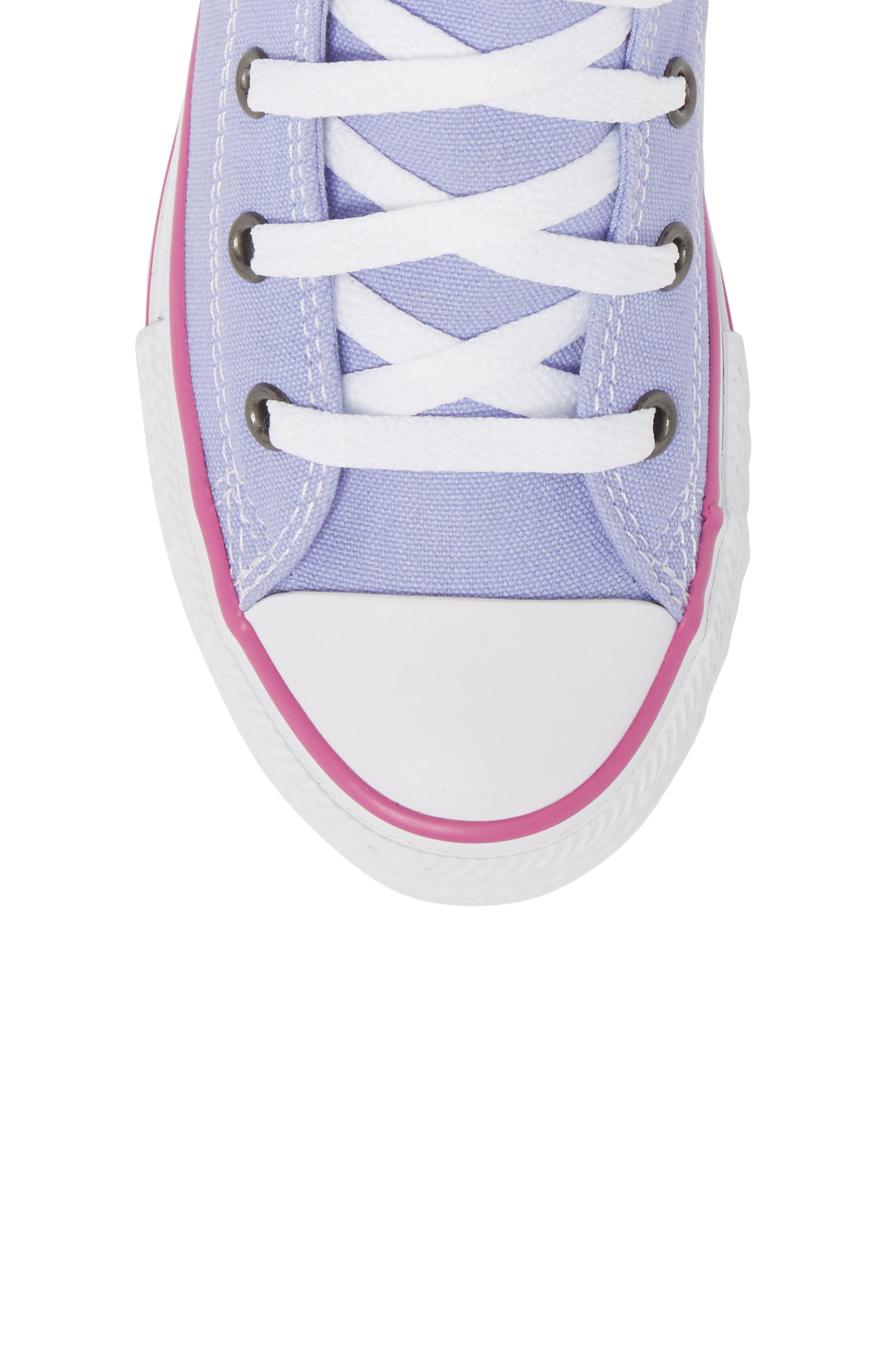 Chuck Taylor<sup>®</sup> All Star<sup>®</sup> High Top Sneaker,                             Alternate thumbnail 5, color,                             Twilight Purple