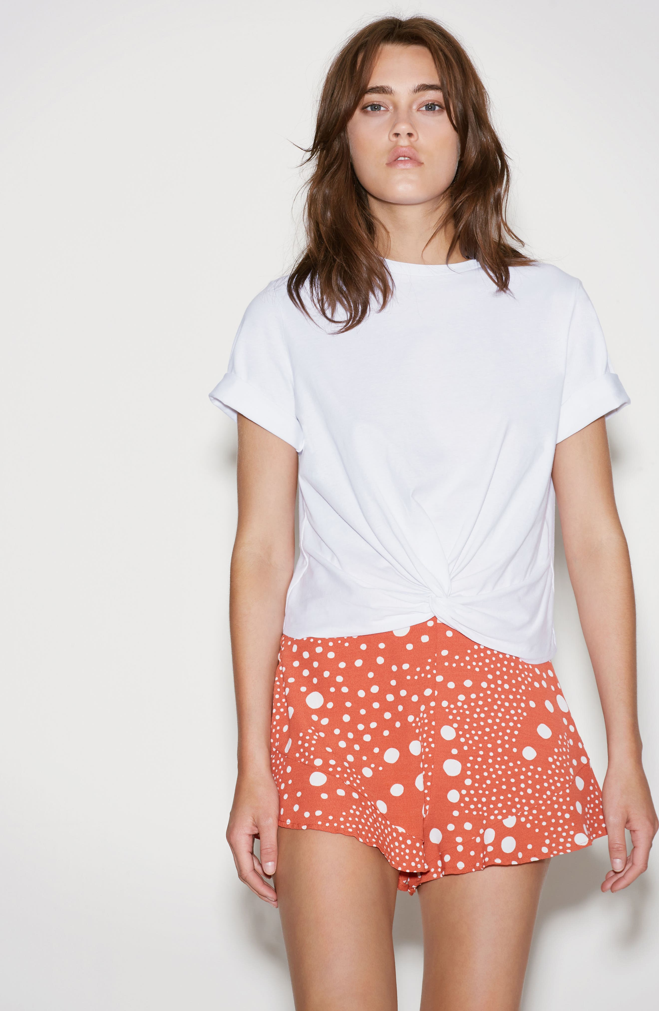 Alternate Image 2  - The Fifth Label Peppers Polka Dot Ruffle Hem Shorts
