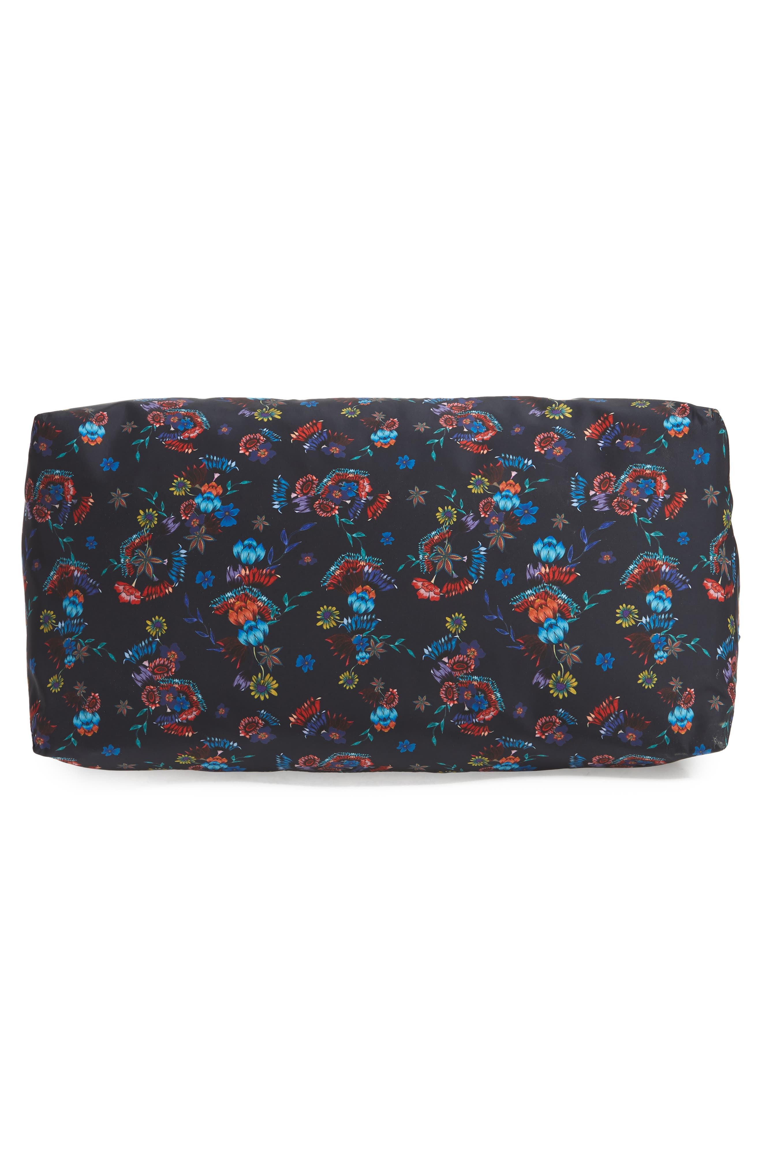 Weekend Nylon Duffel Bag,                             Alternate thumbnail 6, color,                             Floral Blue