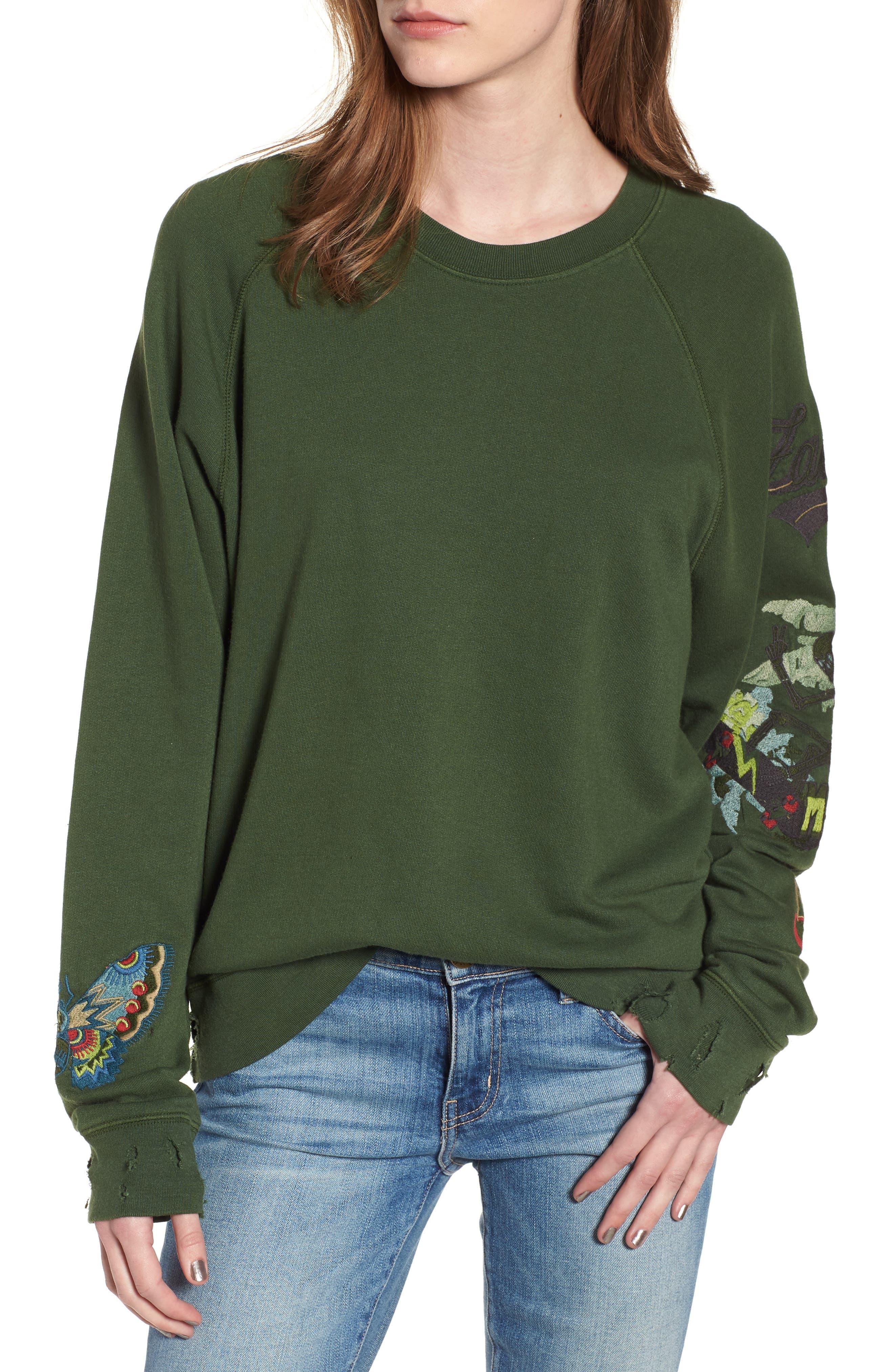 Upper Bis Brode Sweatshirt,                             Main thumbnail 1, color,                             Tropical