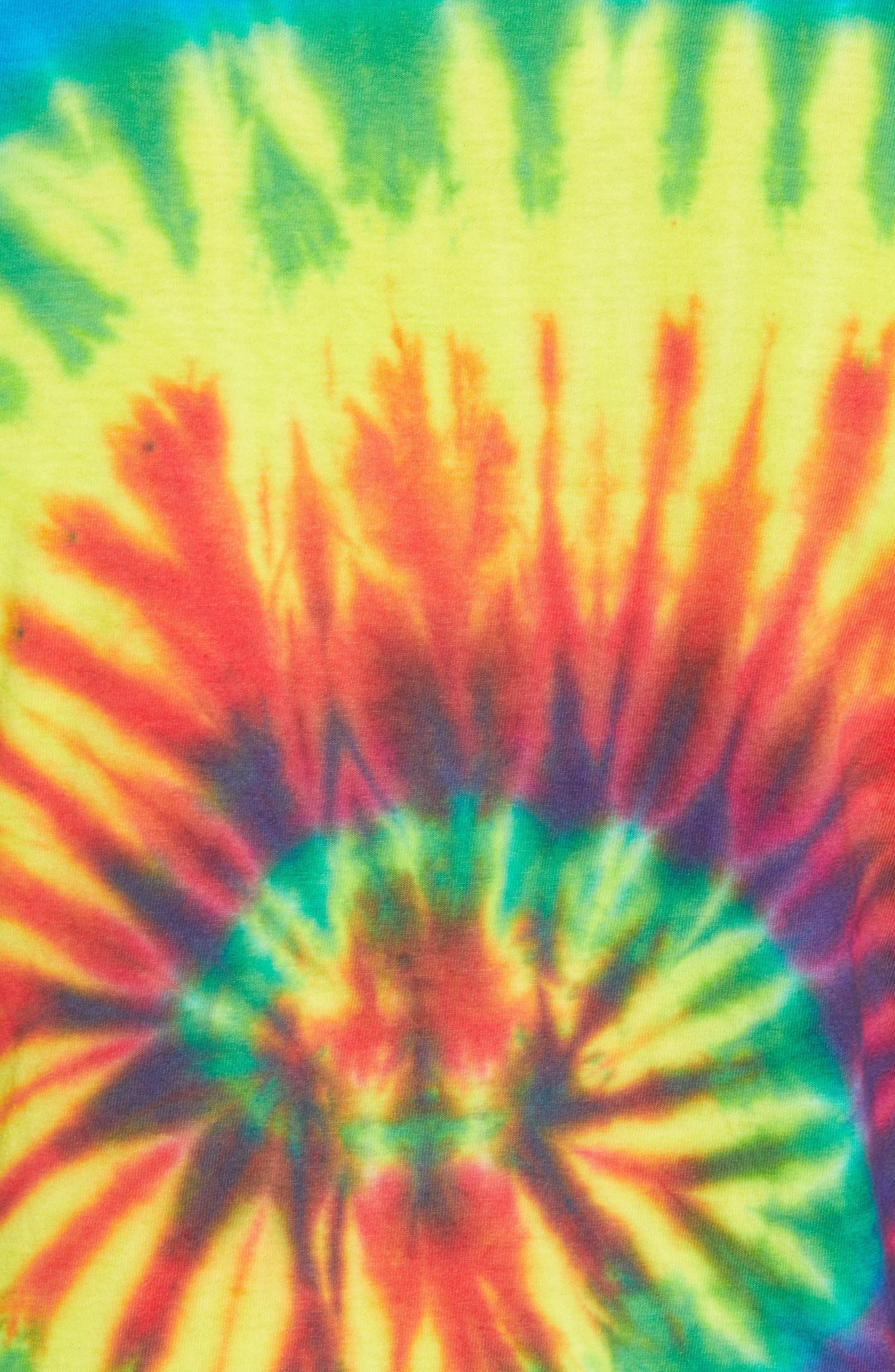 Tie Dye Smiley T-Shirt,                             Alternate thumbnail 5, color,                             Tie Dye Smile