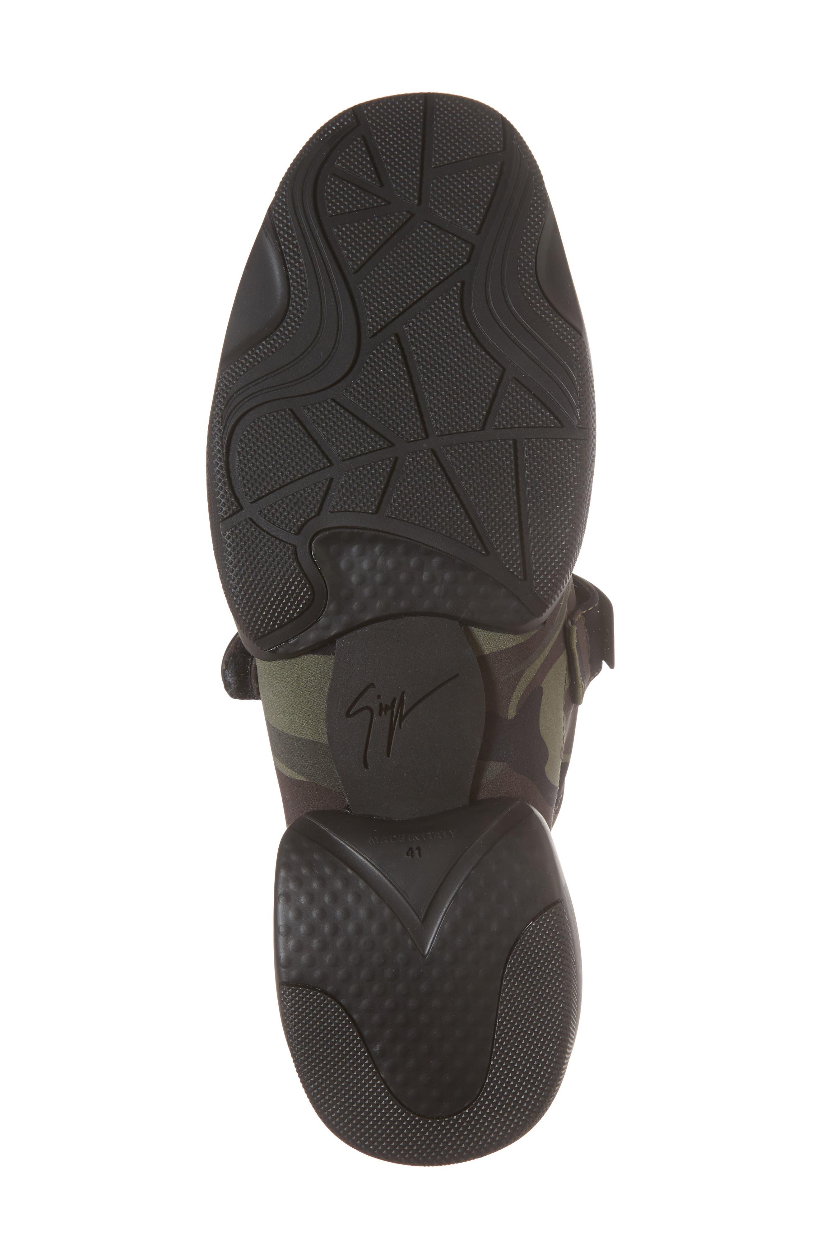 Scuba Strap Sneaker,                             Alternate thumbnail 6, color,                             Military Neoprene