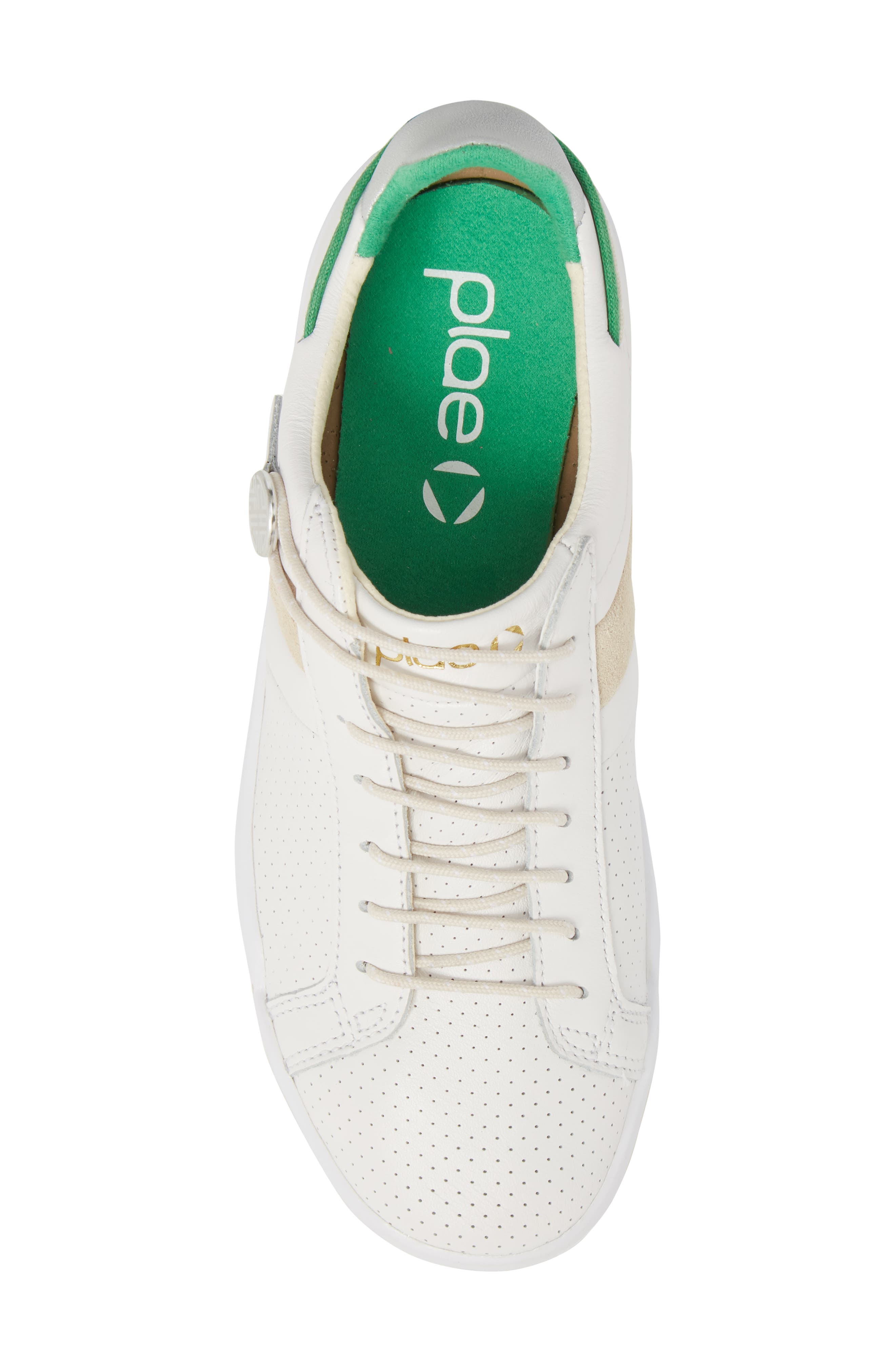 Mulberry Sneaker,                             Alternate thumbnail 5, color,                             White Leather