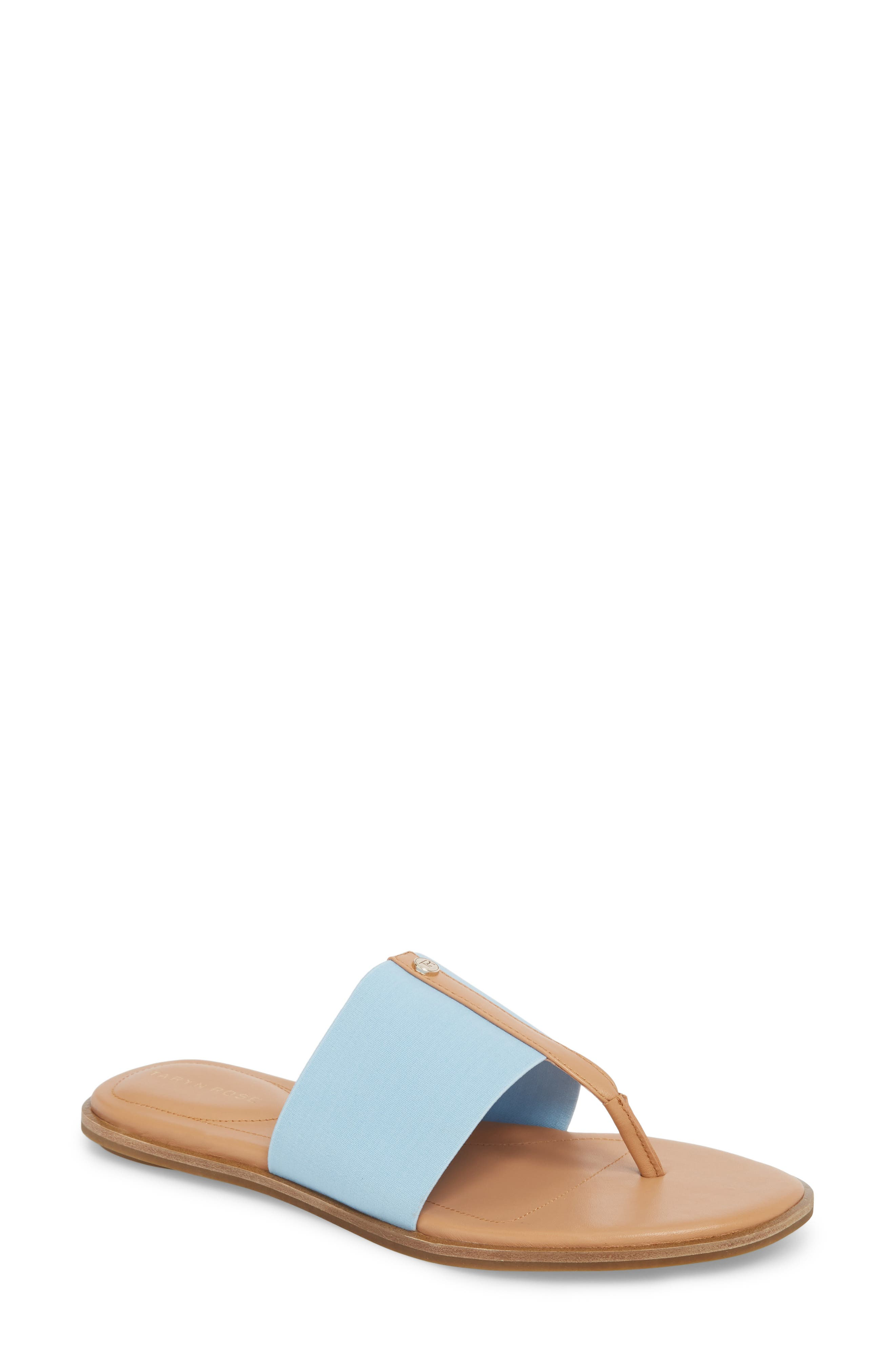 Kamryn Flip Flop,                         Main,                         color, Sky Leather