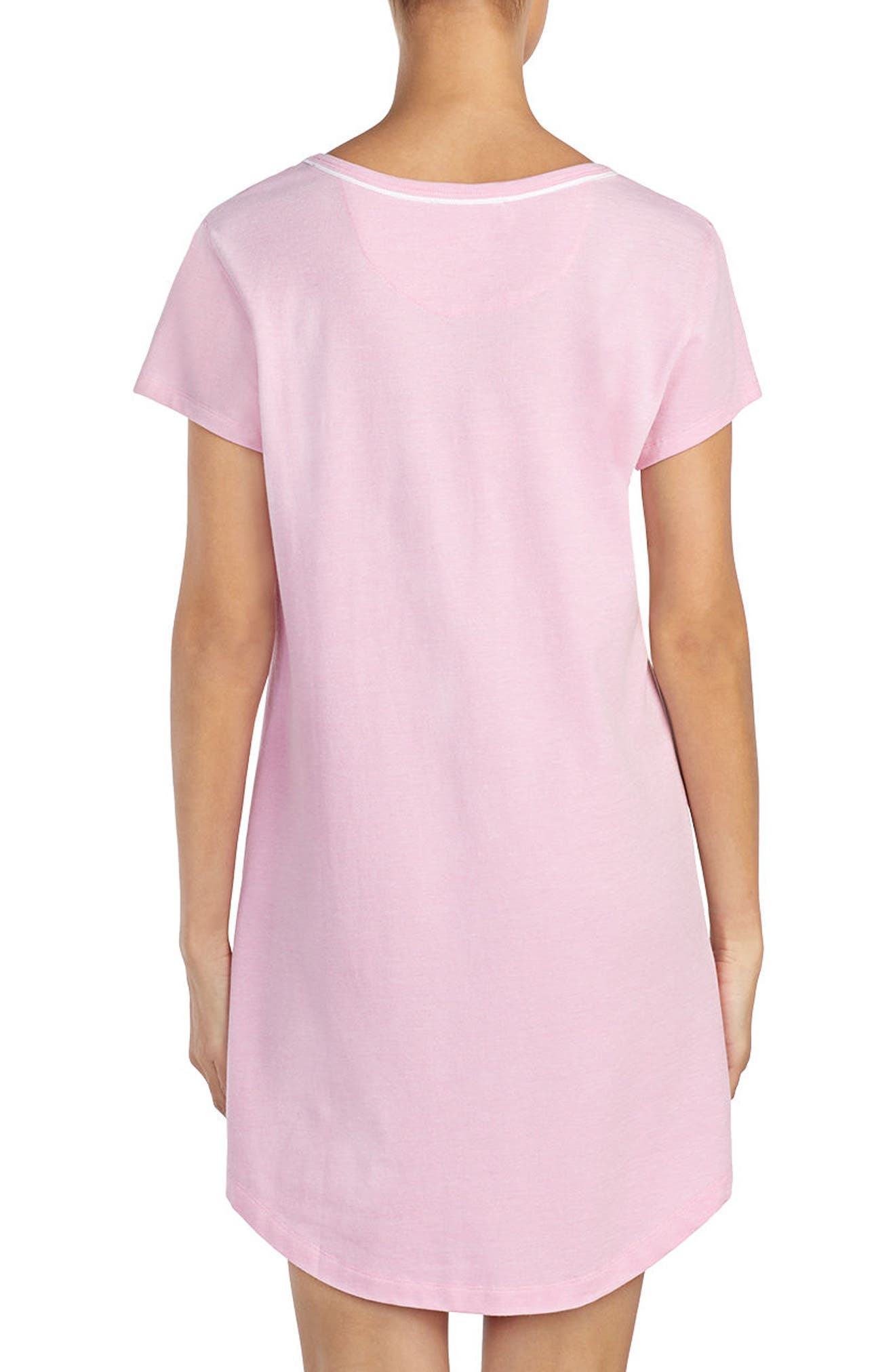 Nightgown,                             Alternate thumbnail 2, color,                             Pink