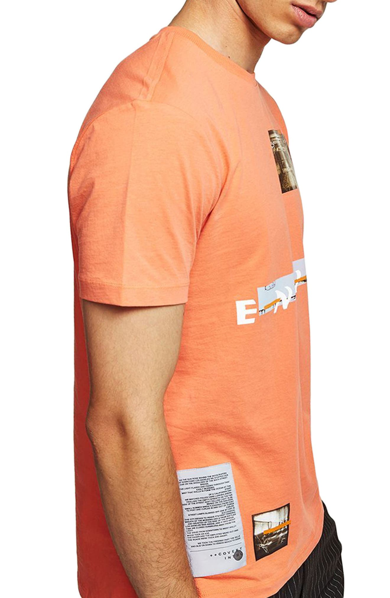 Alternate Image 3  - Topman Ensign Graphic T-Shirt