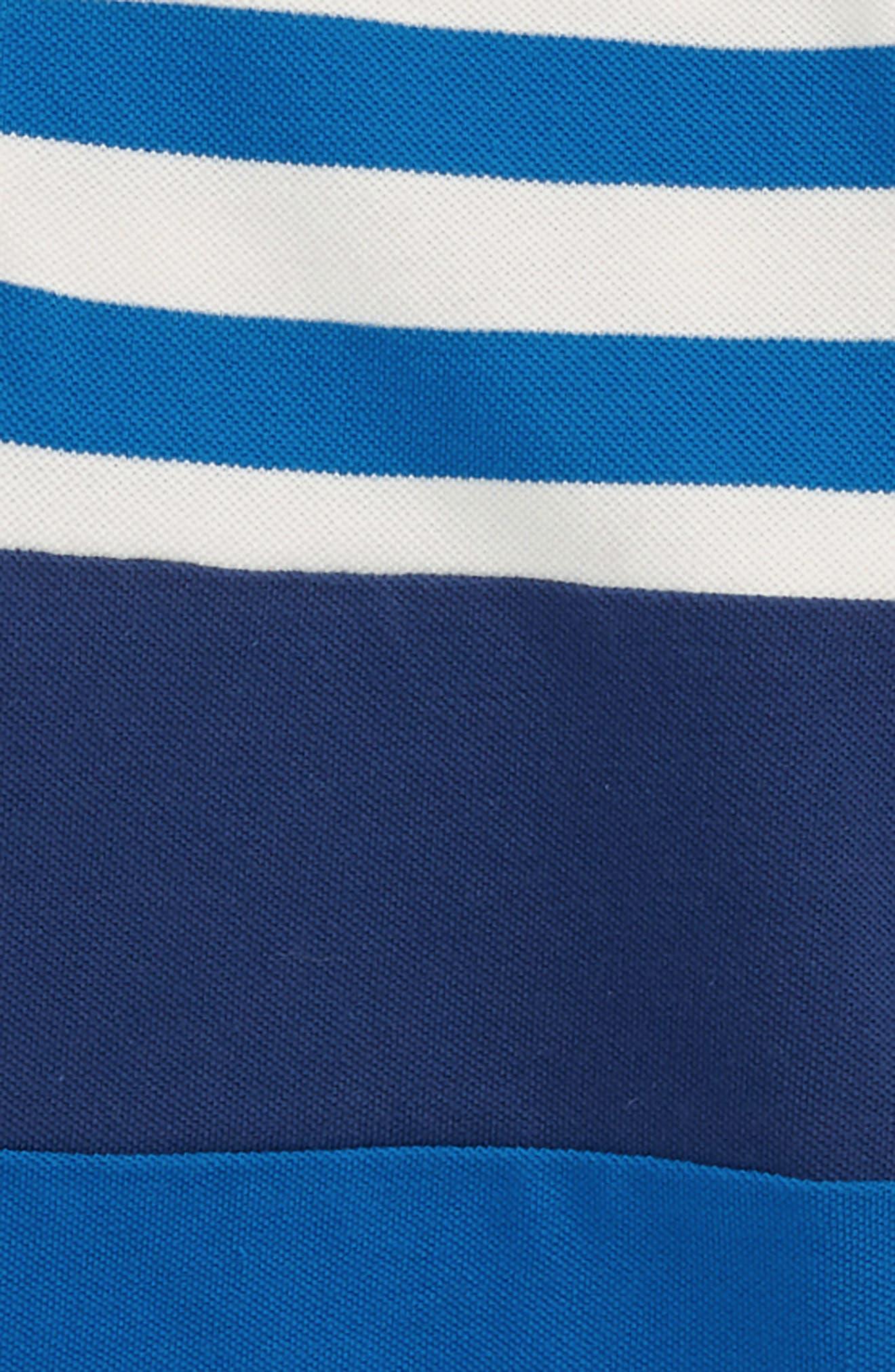 Colorblock Piqué Polo,                             Alternate thumbnail 2, color,                             Yogo Blue