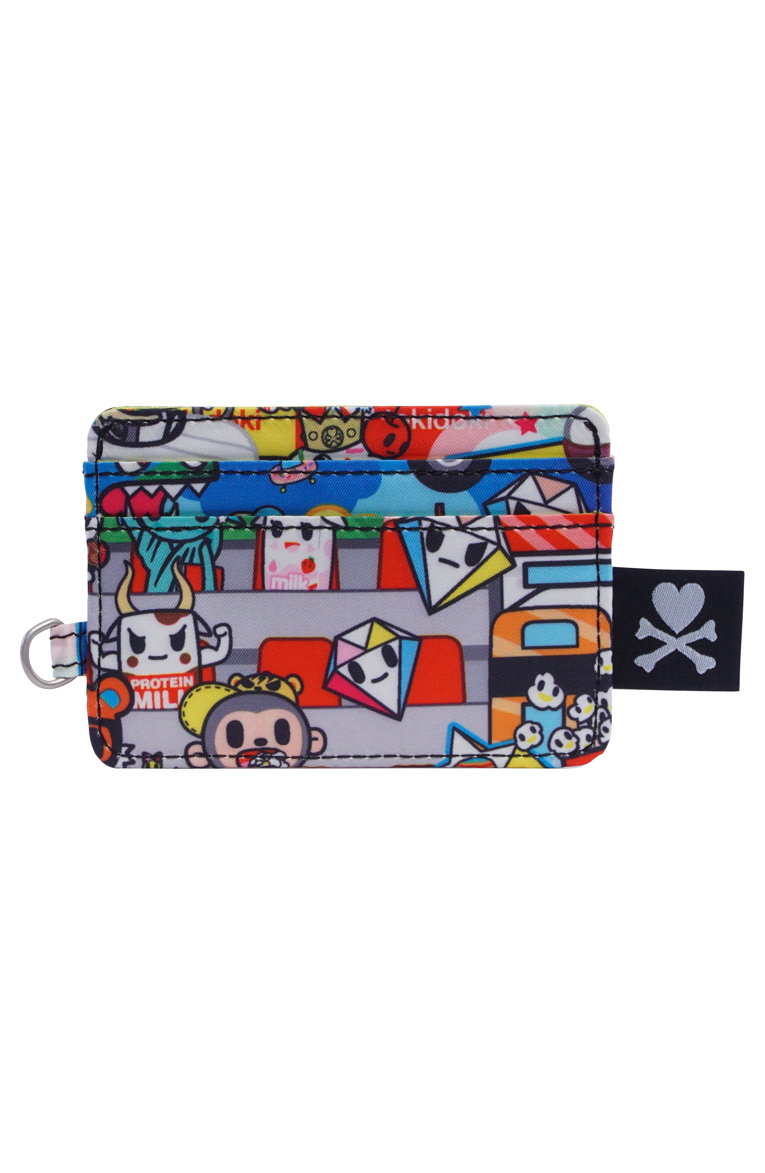 x tokidoki Be Charged Card Case,                             Alternate thumbnail 2, color,                             Sushi Cars