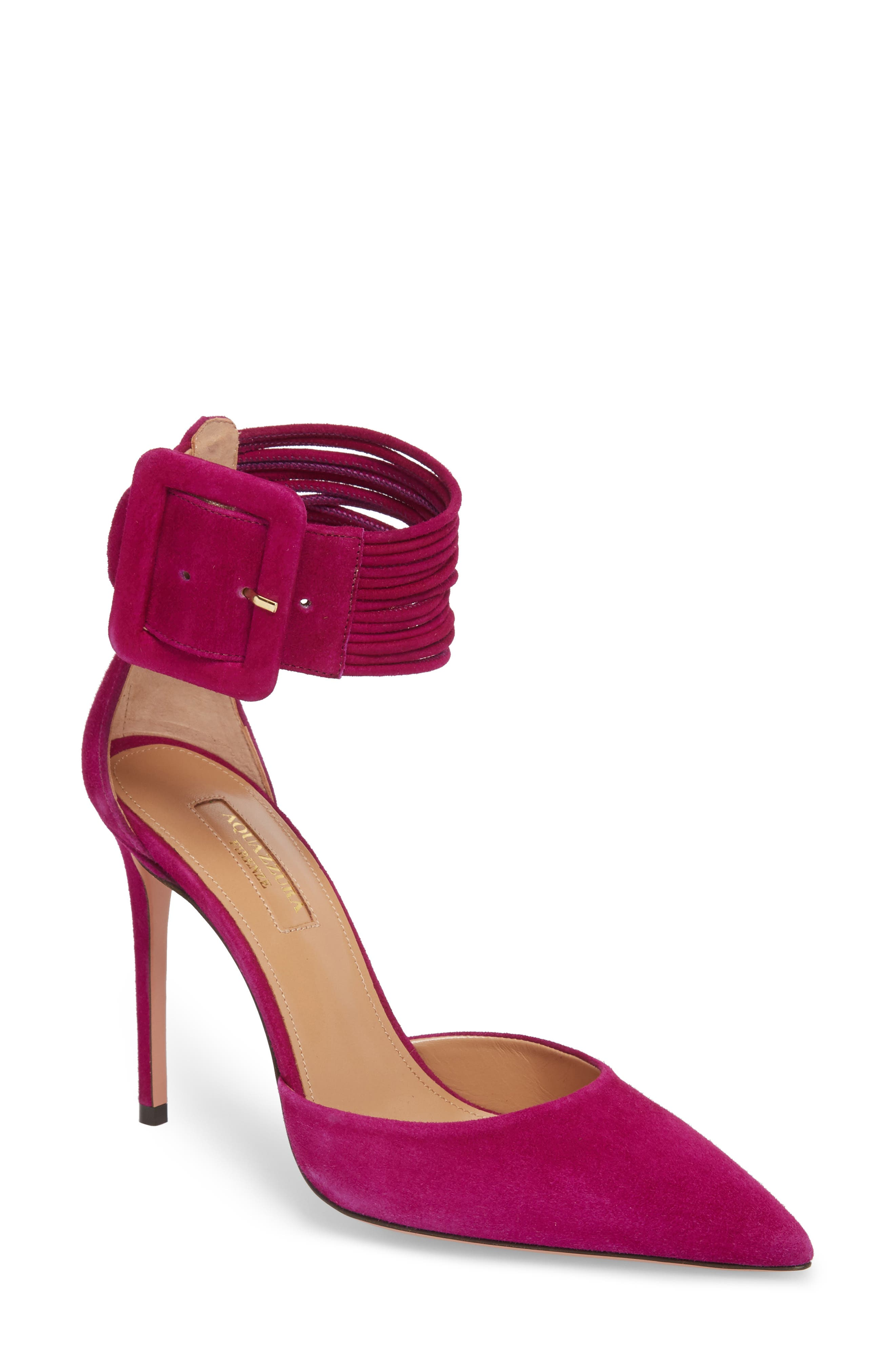 Aquazzura Casablanca Ankle Cuff Pump (Women)