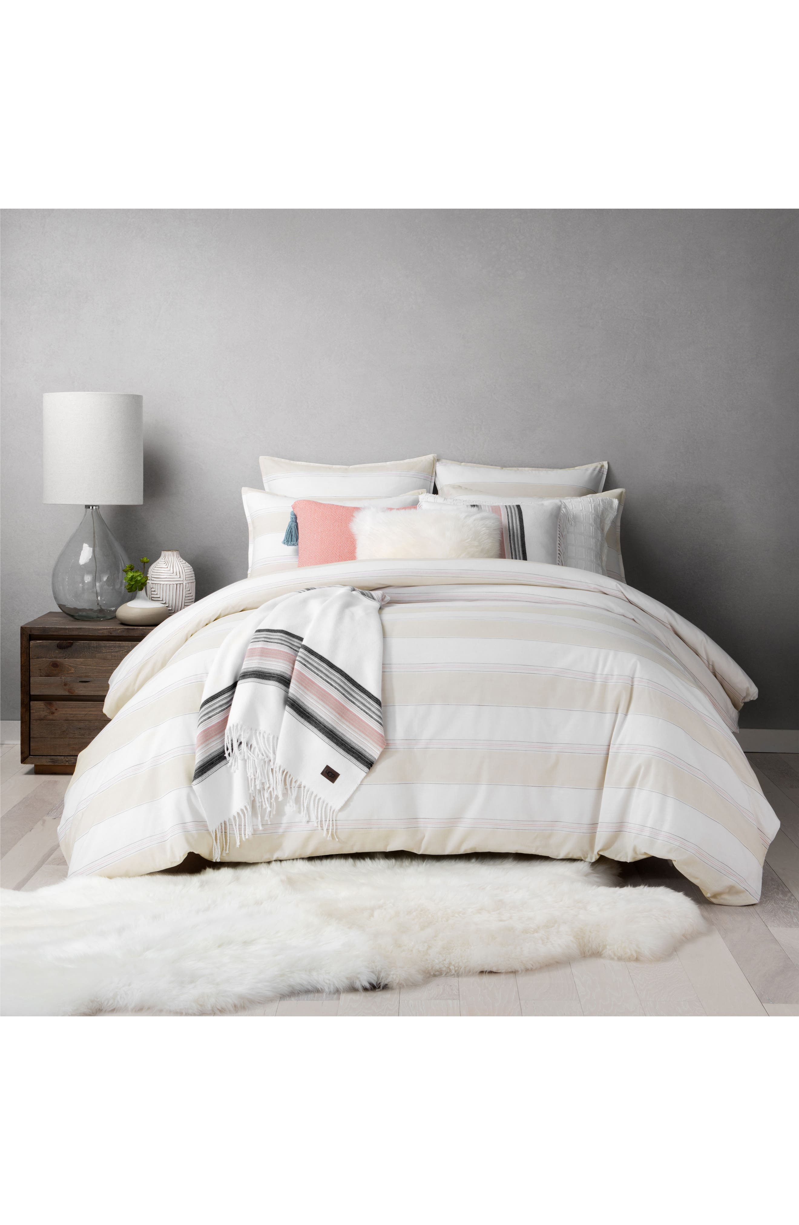 Cashmere Pillow,                             Alternate thumbnail 3, color,                             White