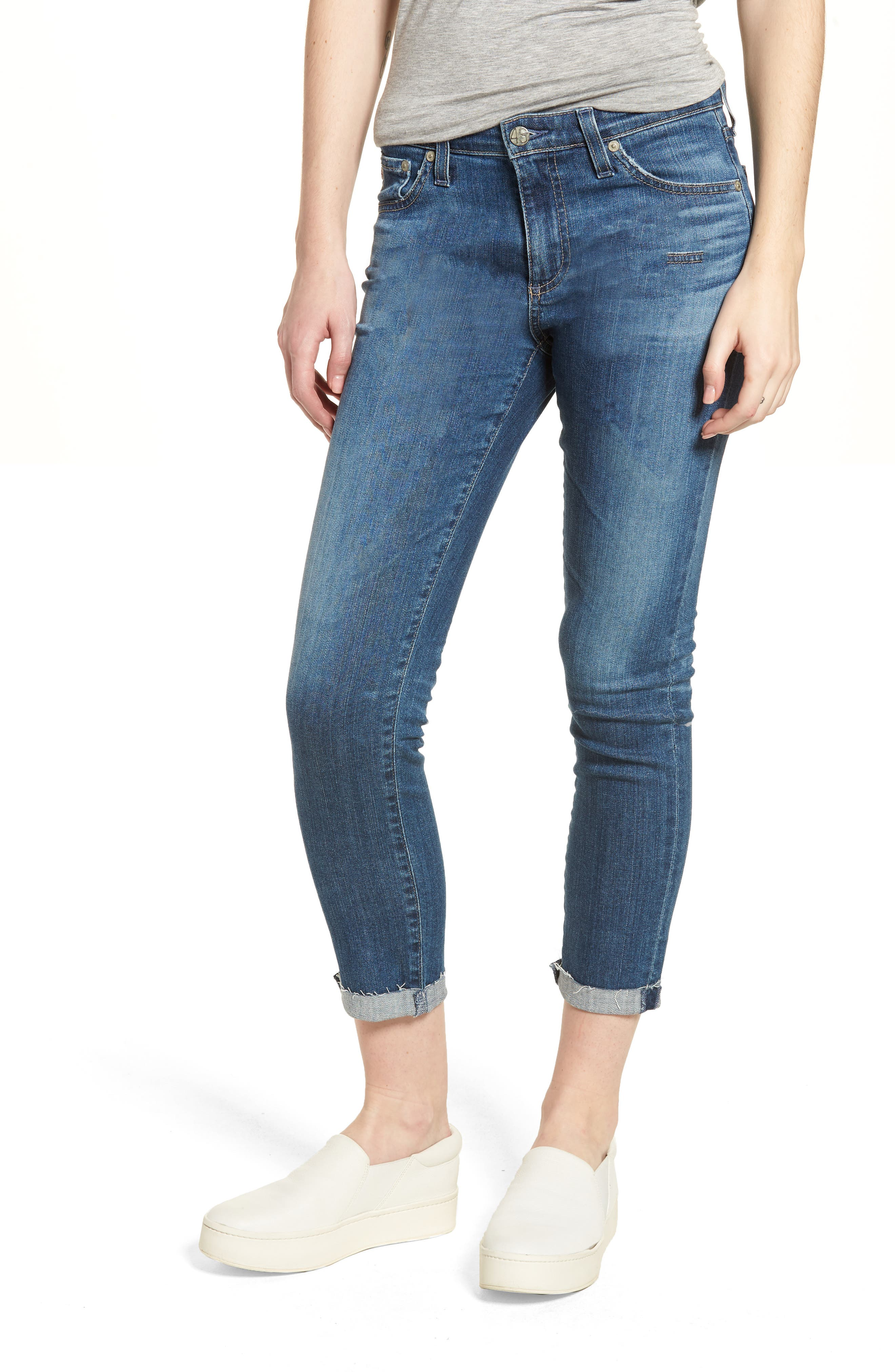 AG Prima Roll-Up Cigarette Jeans (12 Years Westward)