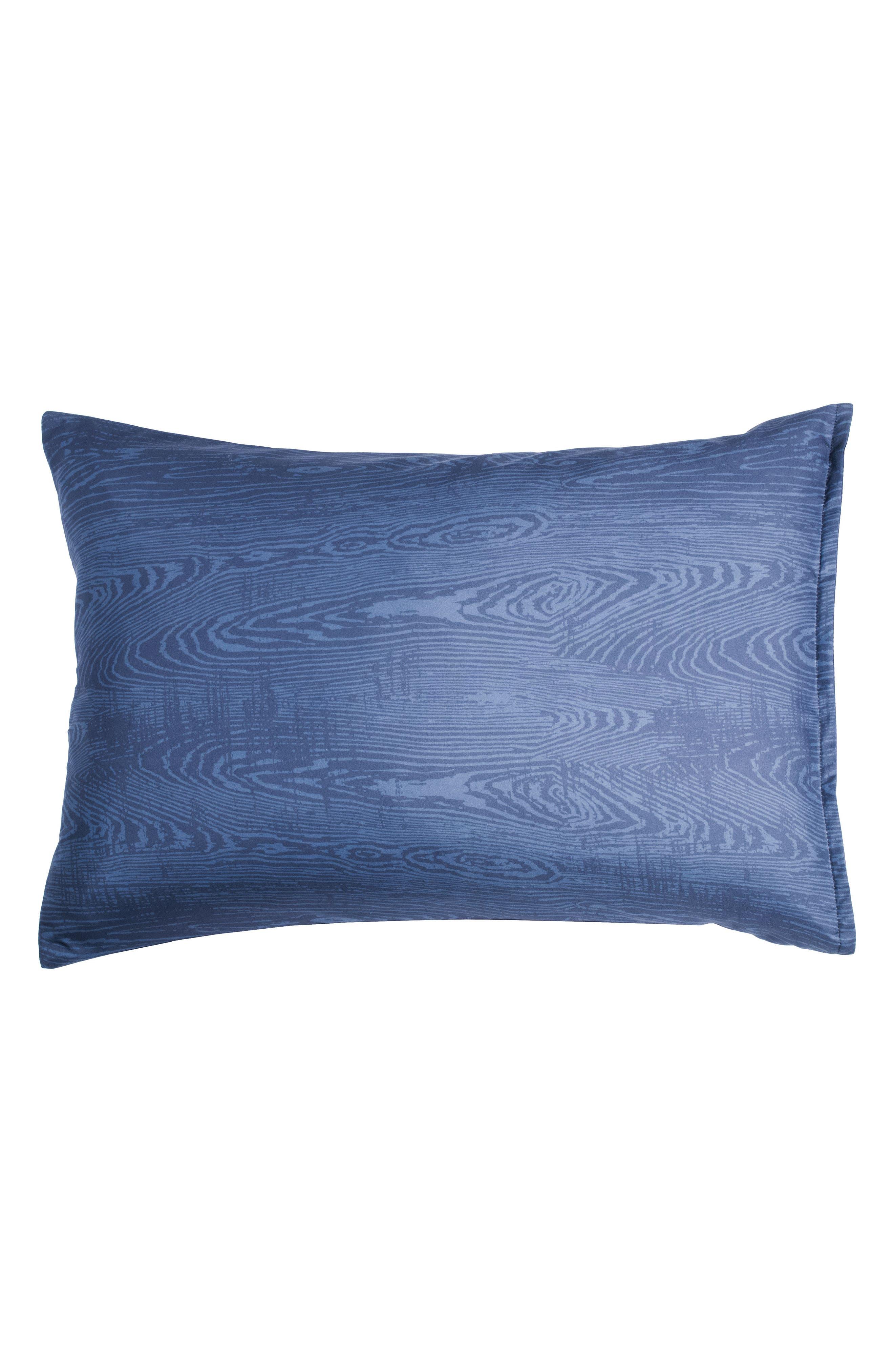 Woodgrain Comforter & Sham Set,                             Alternate thumbnail 2, color,                             Navy