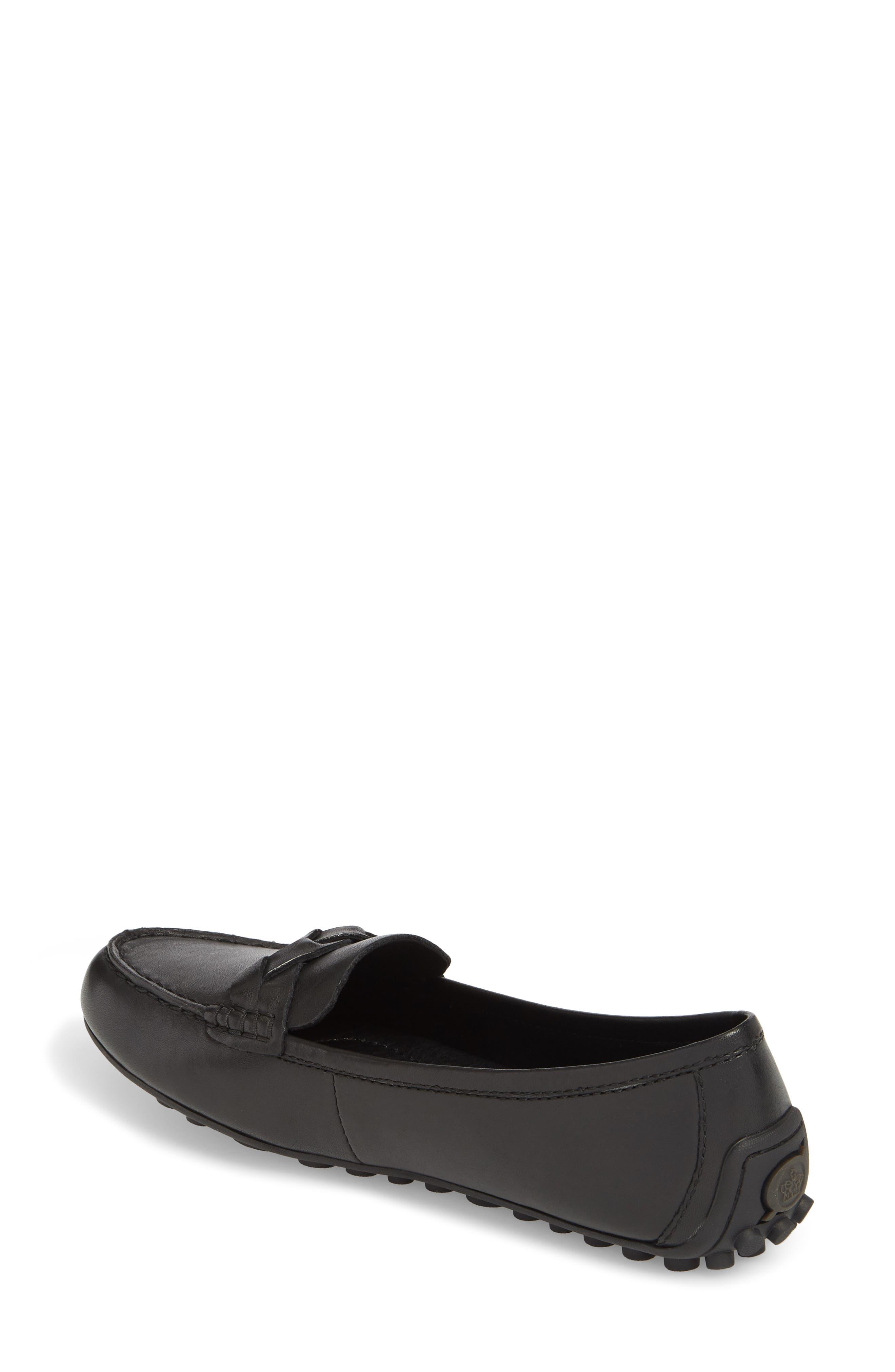 Kasa Loafer,                             Alternate thumbnail 2, color,                             Black Leather