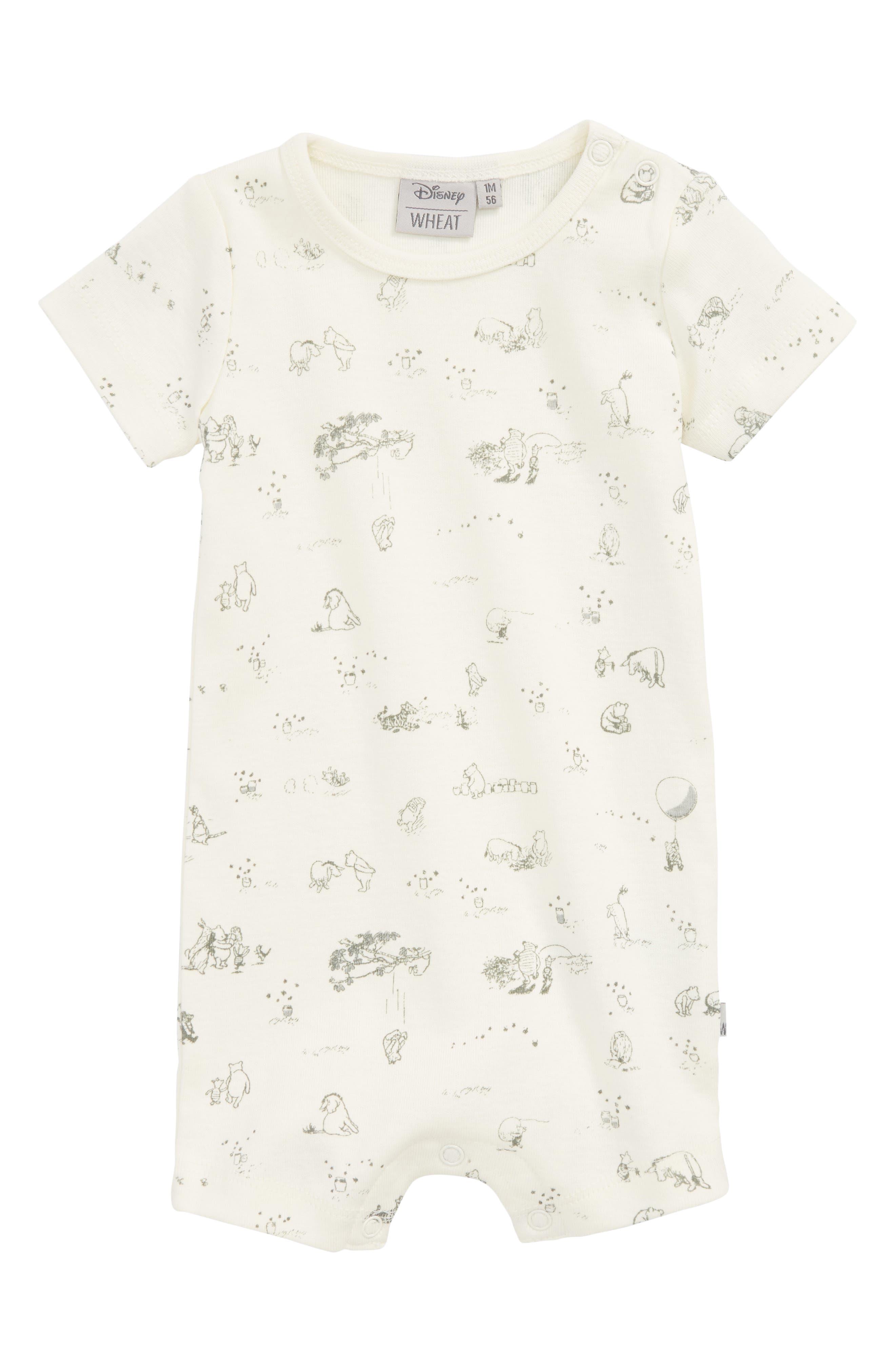 Wheat x Disney® Winnie the Pooh Organic Cotton Romper (Baby)