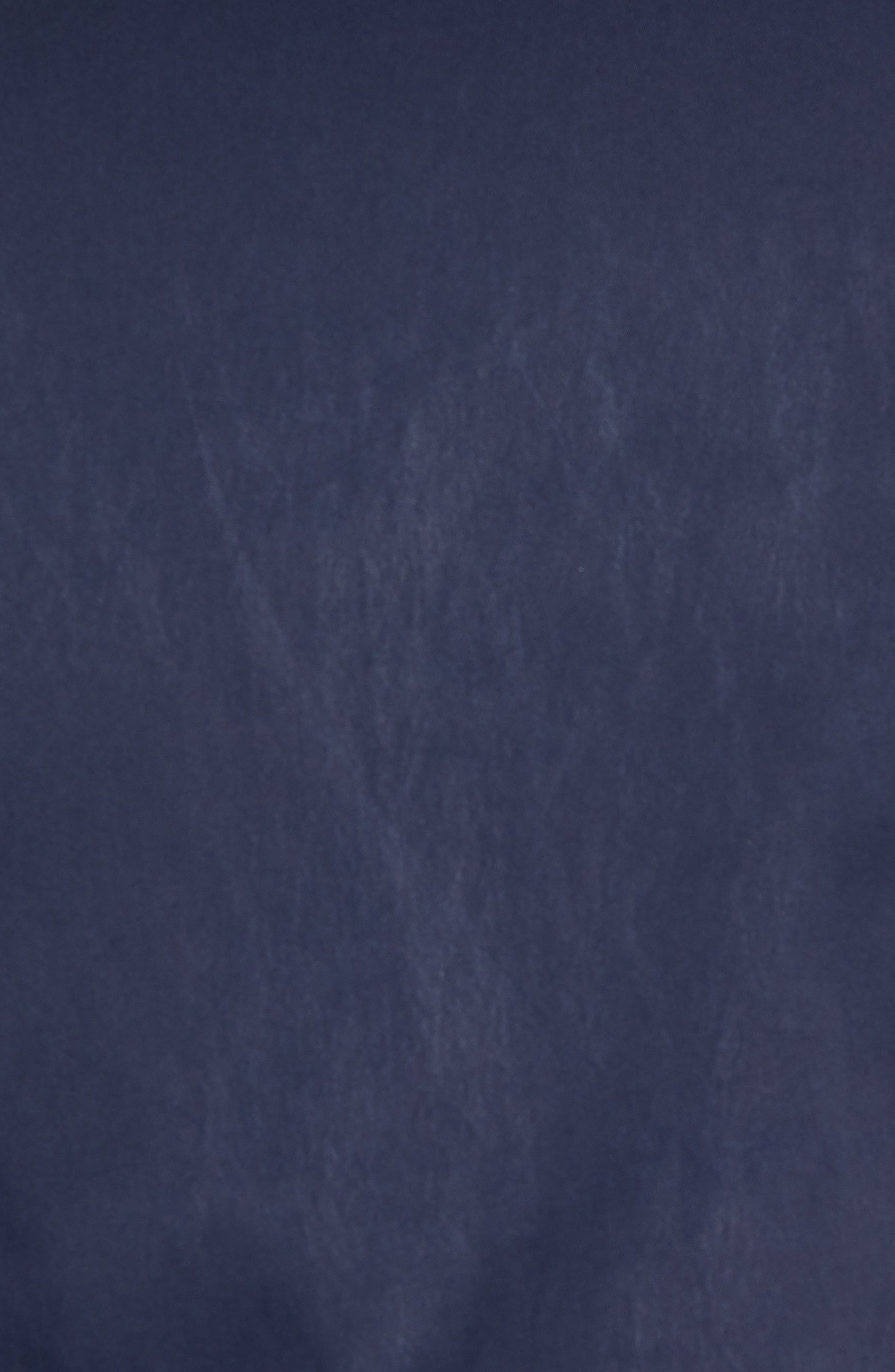 Souvenir Bomber Jacket,                             Alternate thumbnail 5, color,                             Embroidered Palm - Navy