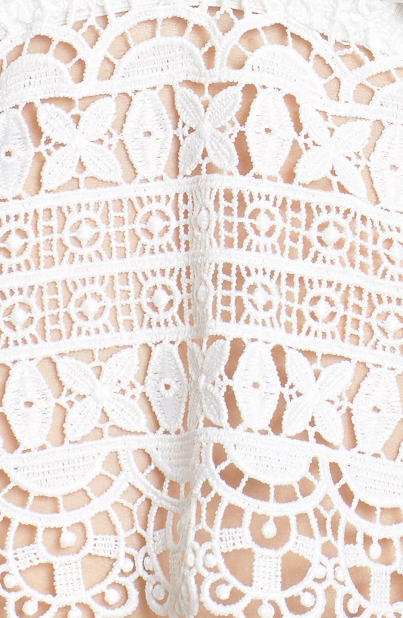 Edie Short Pajamas,                             Alternate thumbnail 5, color,                             Ivory