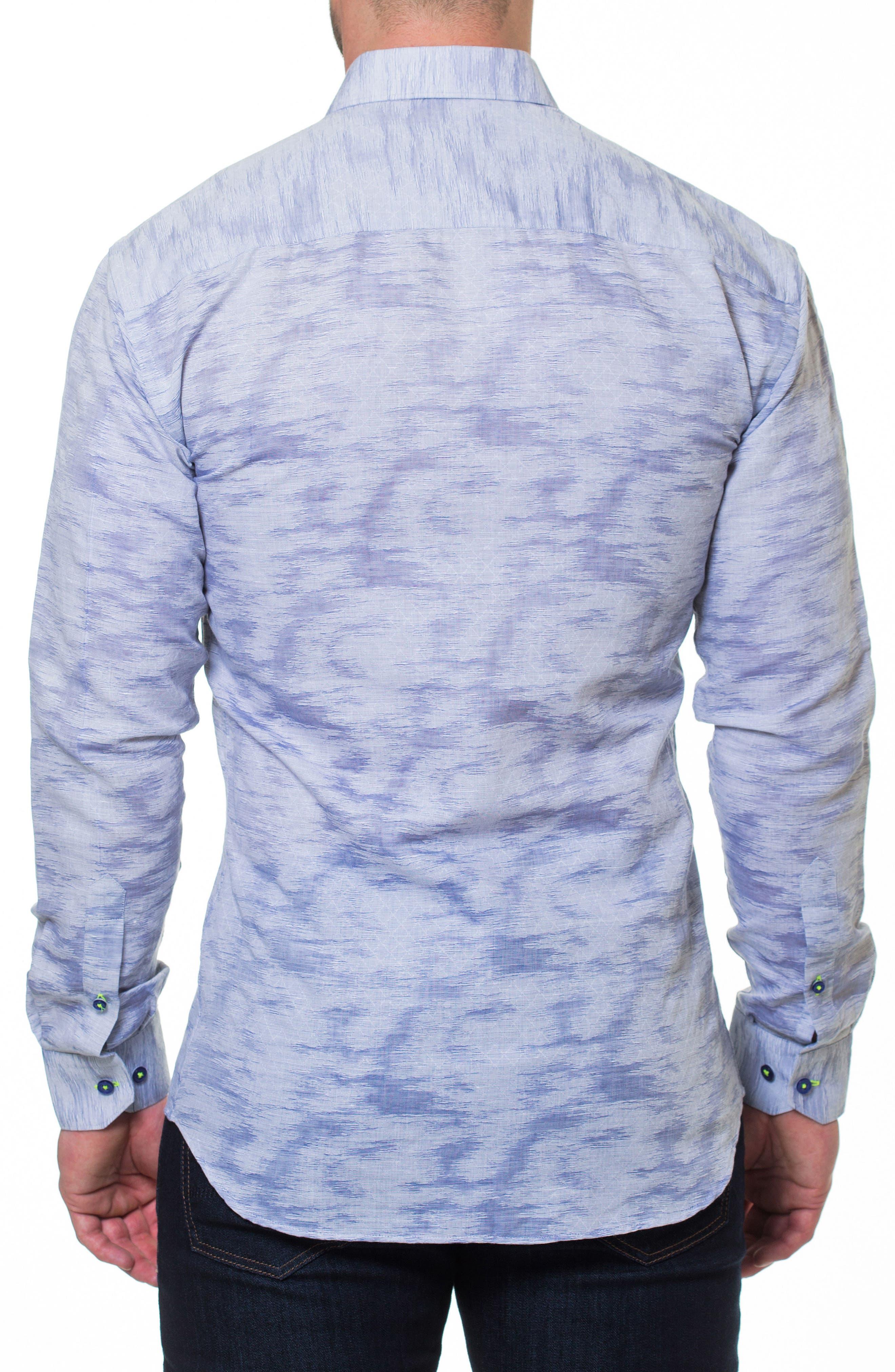 Luxor Richter Slim Fit Sport Shirt,                             Alternate thumbnail 2, color,                             Grey