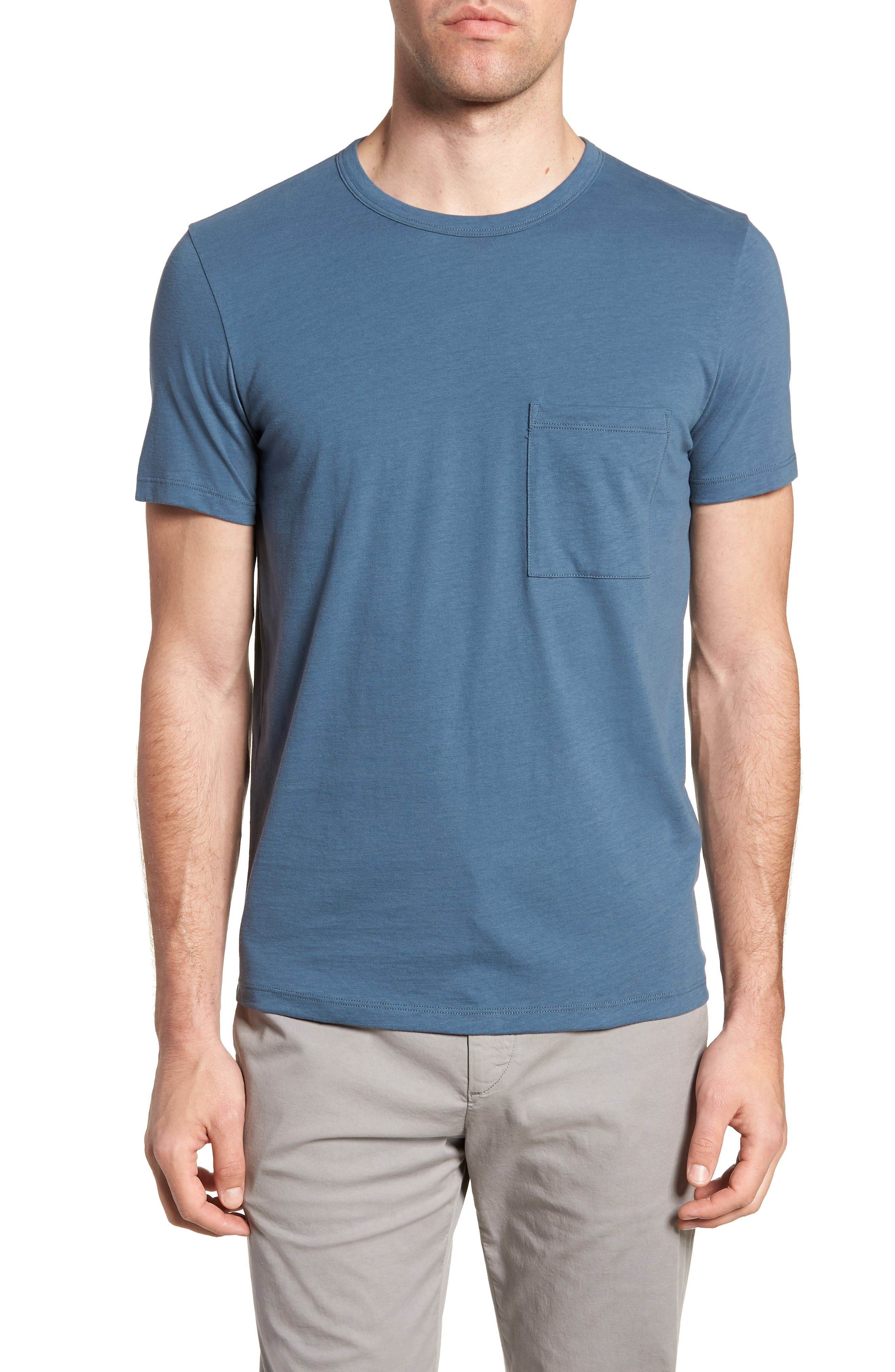 Essential Regular Fit T-Shirt,                             Main thumbnail 1, color,                             Hydro