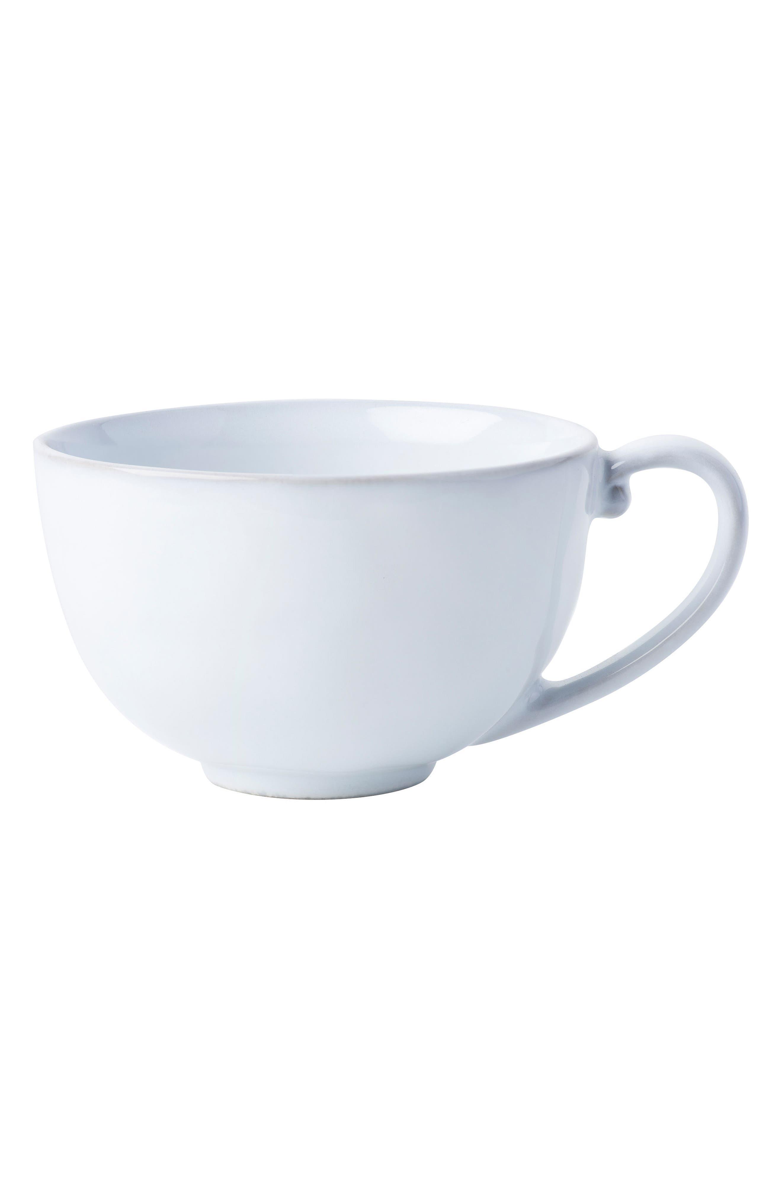 Quotidien White Truffle Ceramic Coffee Cup,                         Main,                         color, White Truffle