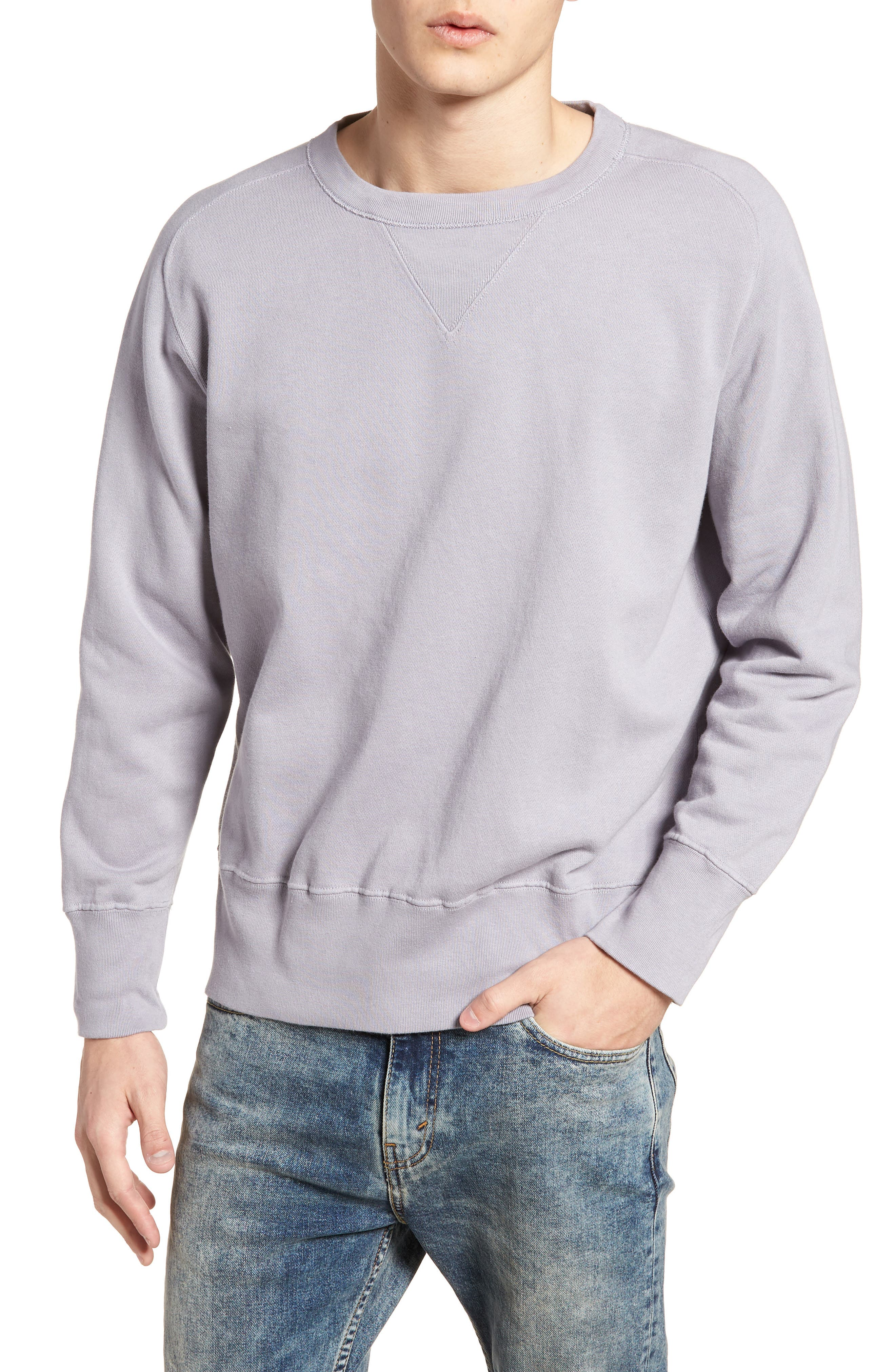 Bay Meadows Sweatshirt,                             Main thumbnail 1, color,                             Quiksilver