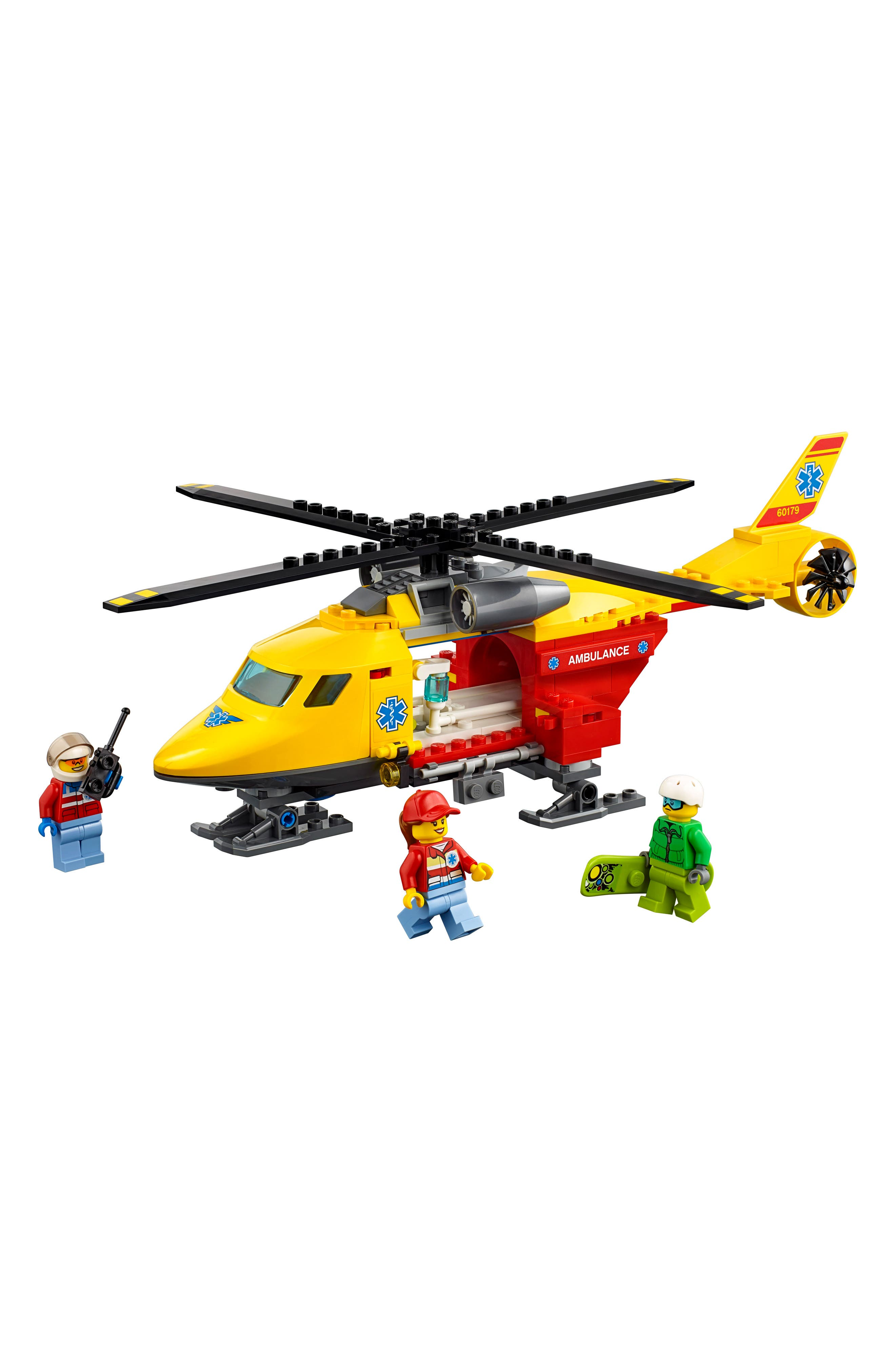 LEGO<sup>™</sup> City Ambulance Helicopter - 60179,                             Alternate thumbnail 2, color,                             Multi