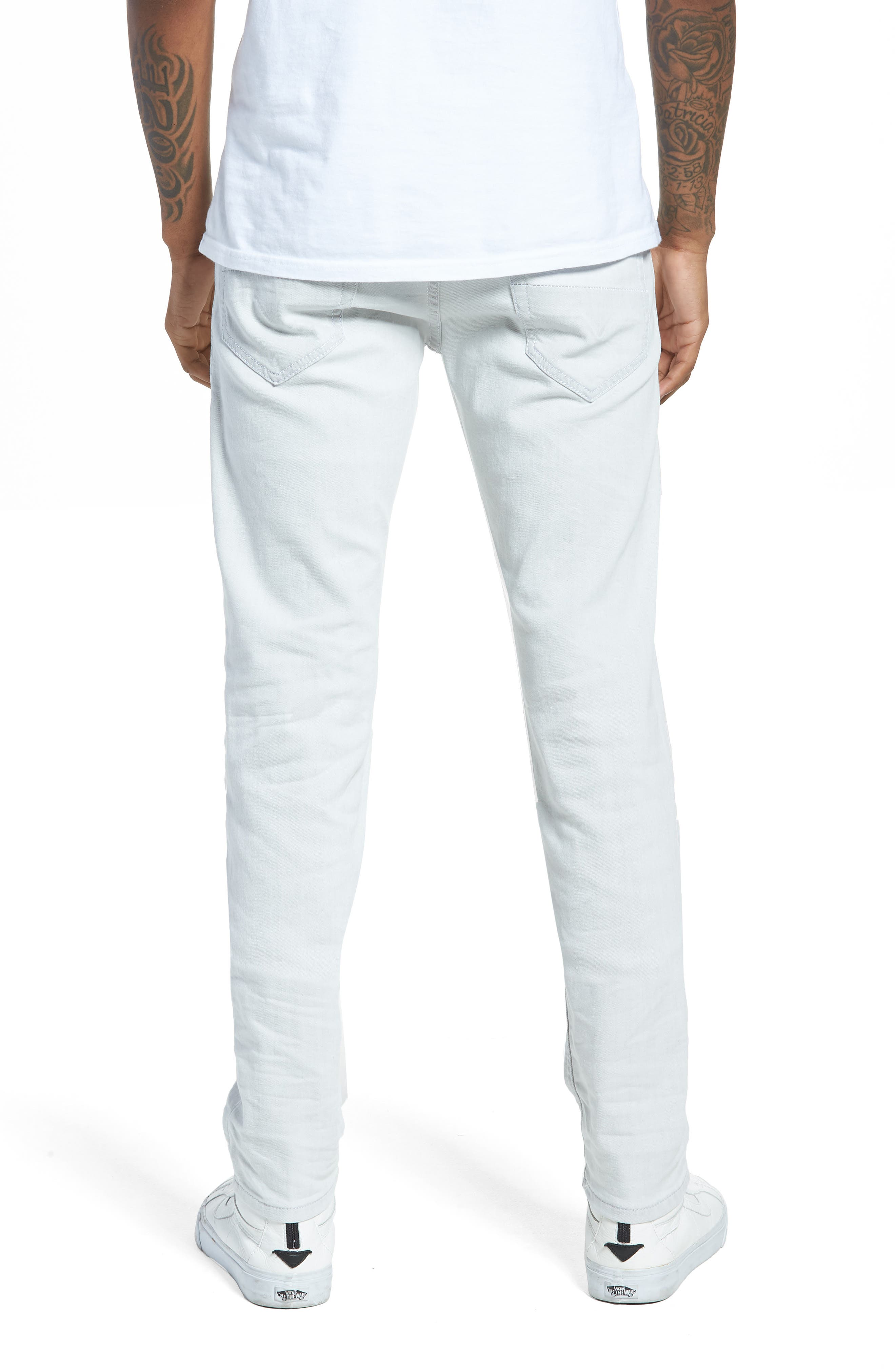 Thommer Slim Fit Jeans,                             Alternate thumbnail 5, color,                             0689F
