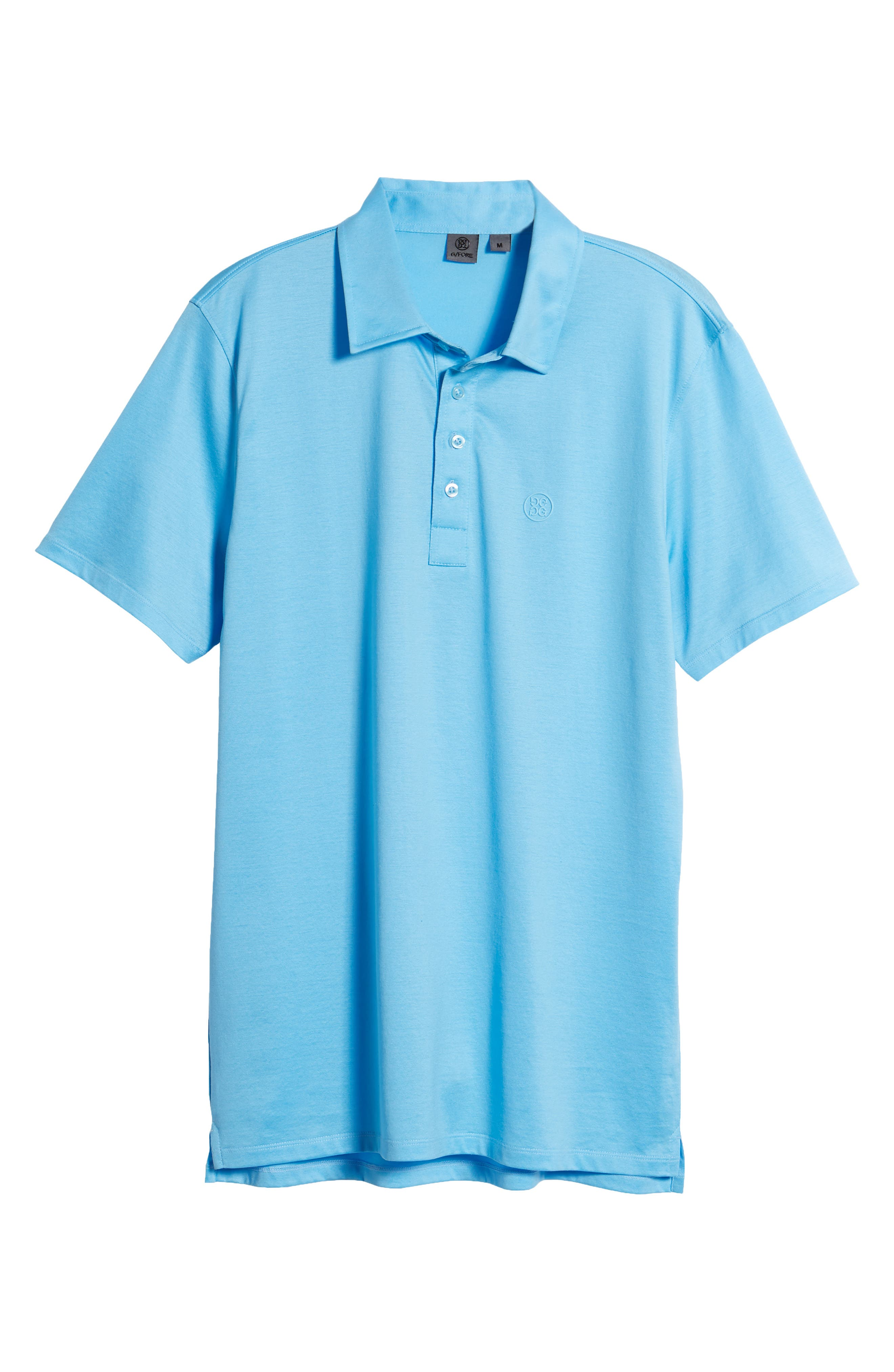 Essential Regular Fit Polo,                             Alternate thumbnail 6, color,                             Pacific