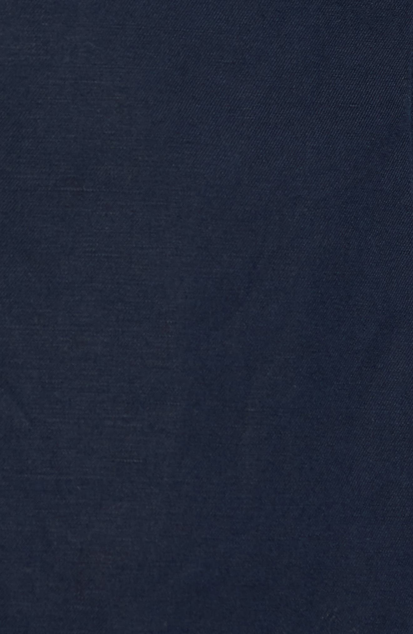 Maxwell Valley Cotton & Linen Sport Coat,                             Alternate thumbnail 5, color,                             Midnight