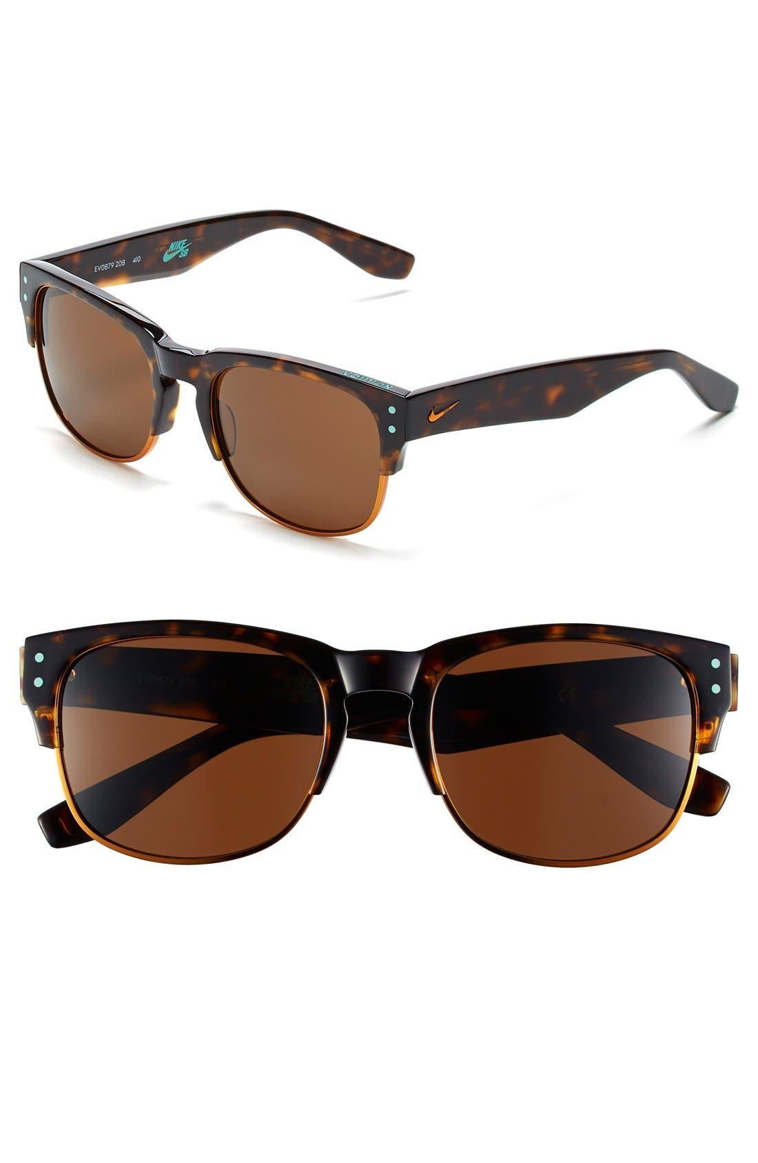 Volition 54mm Sunglasses,                         Main,                         color, Tortoise/ Copper Flash