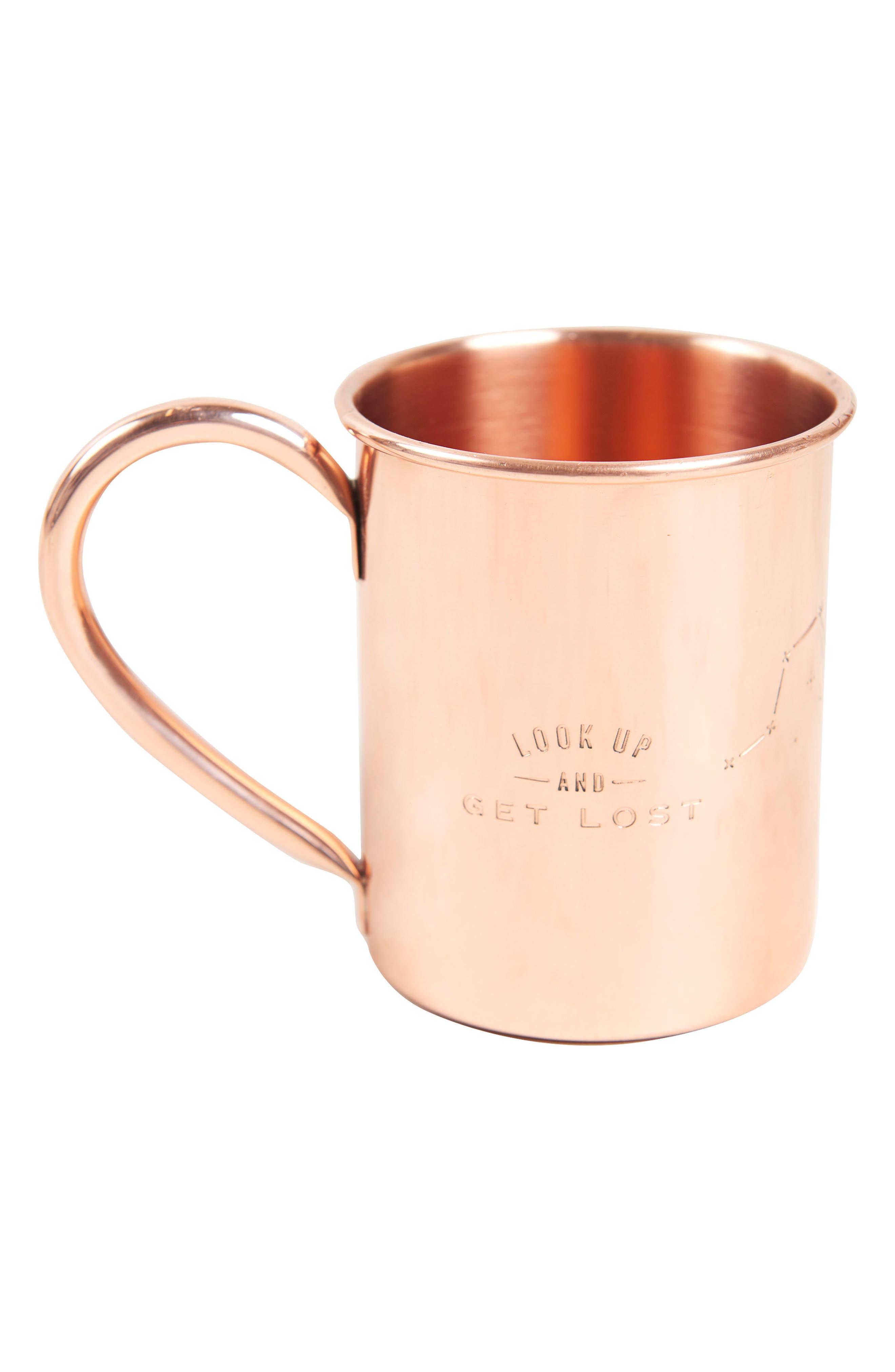 Engraved Copper Mug,                             Main thumbnail 1, color,                             Look Up