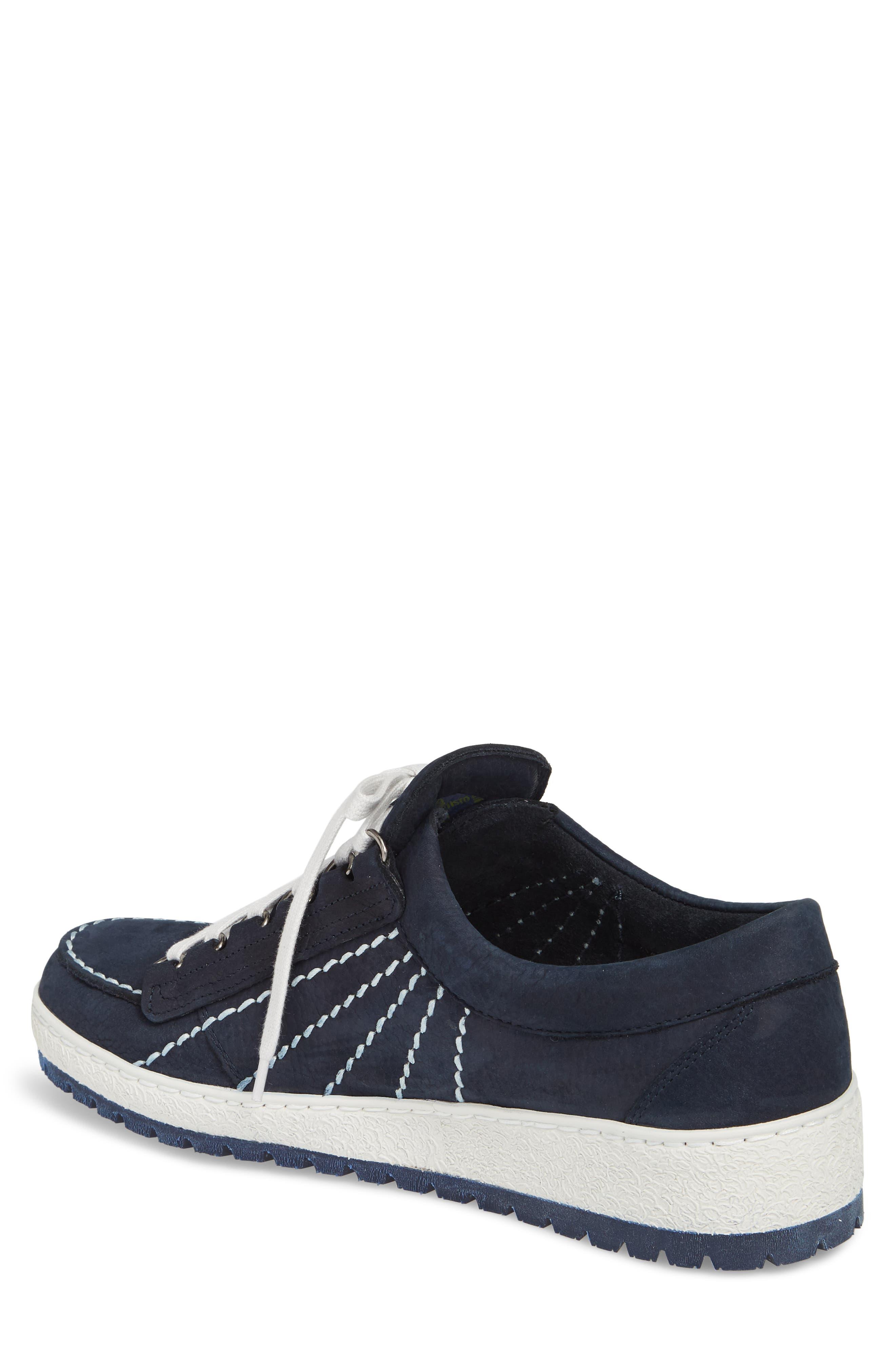 Rainbow Sneaker,                             Alternate thumbnail 2, color,                             Navy
