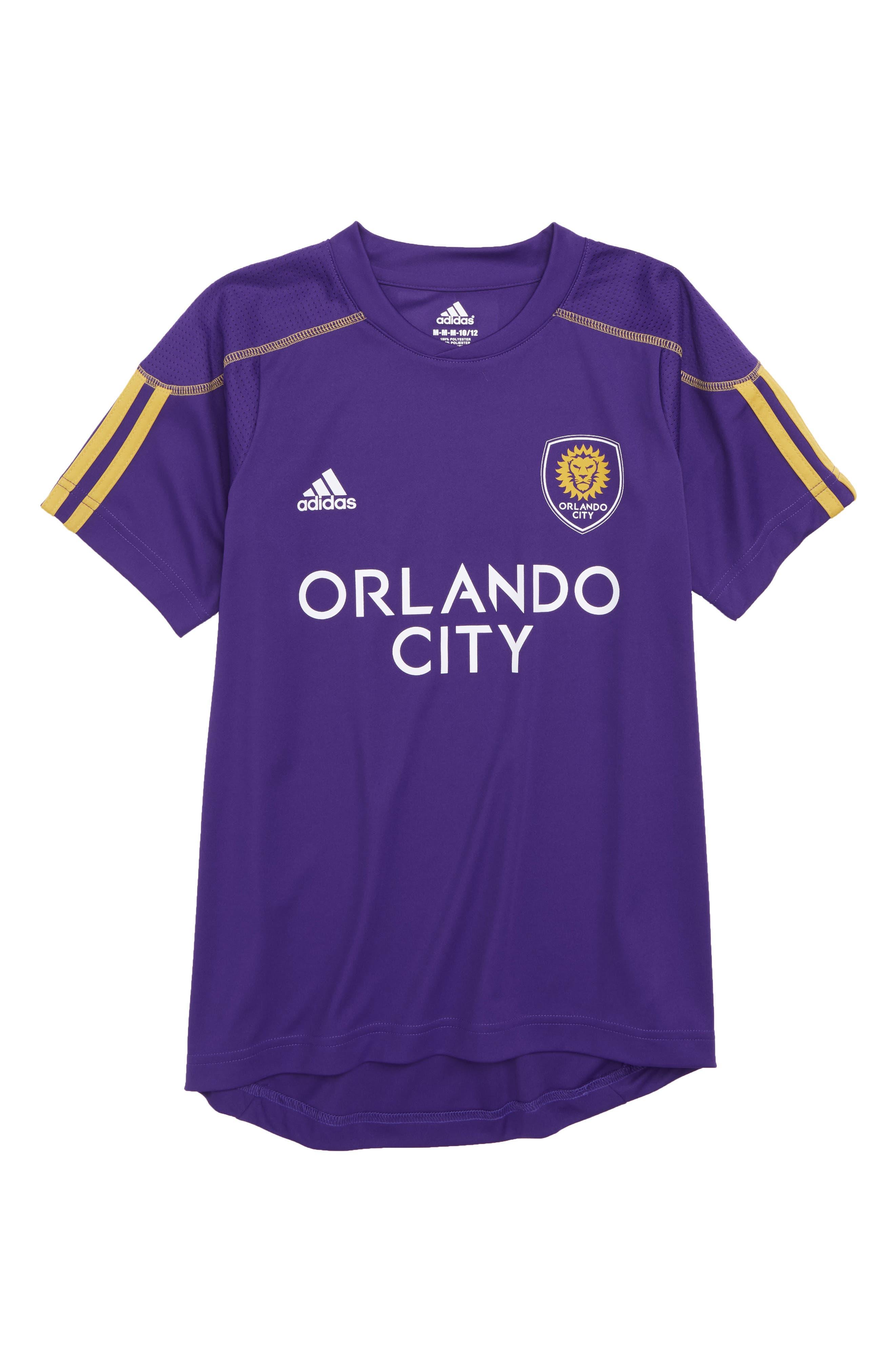 MLS Orlando City SC Primary Logo Graphic T-Shirt,                             Main thumbnail 1, color,                             Regal Purple