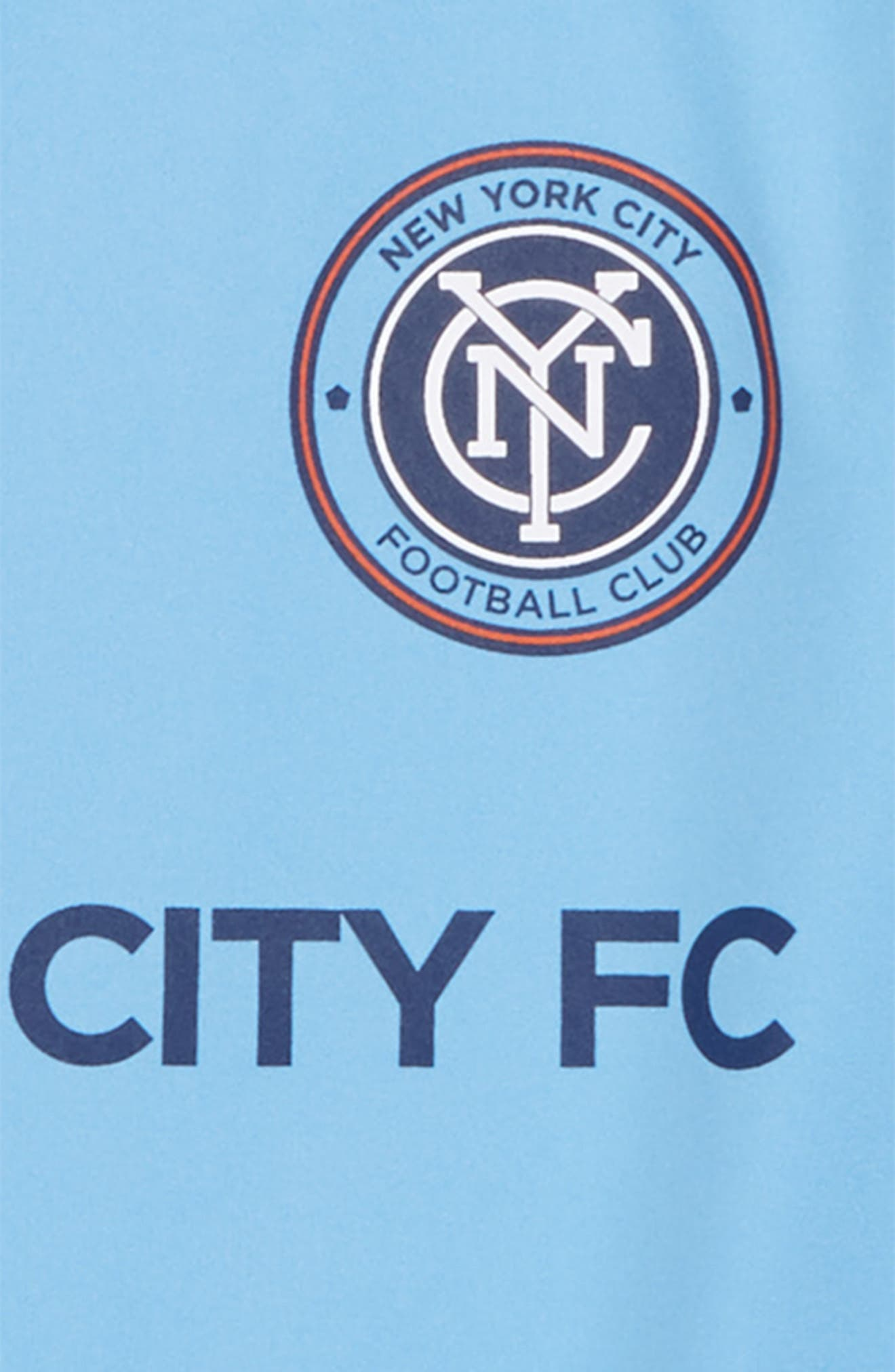 Alternate Image 2  - adidas MLS New York City FC Primary Logo Graphic T-Shirt (Big Boys)