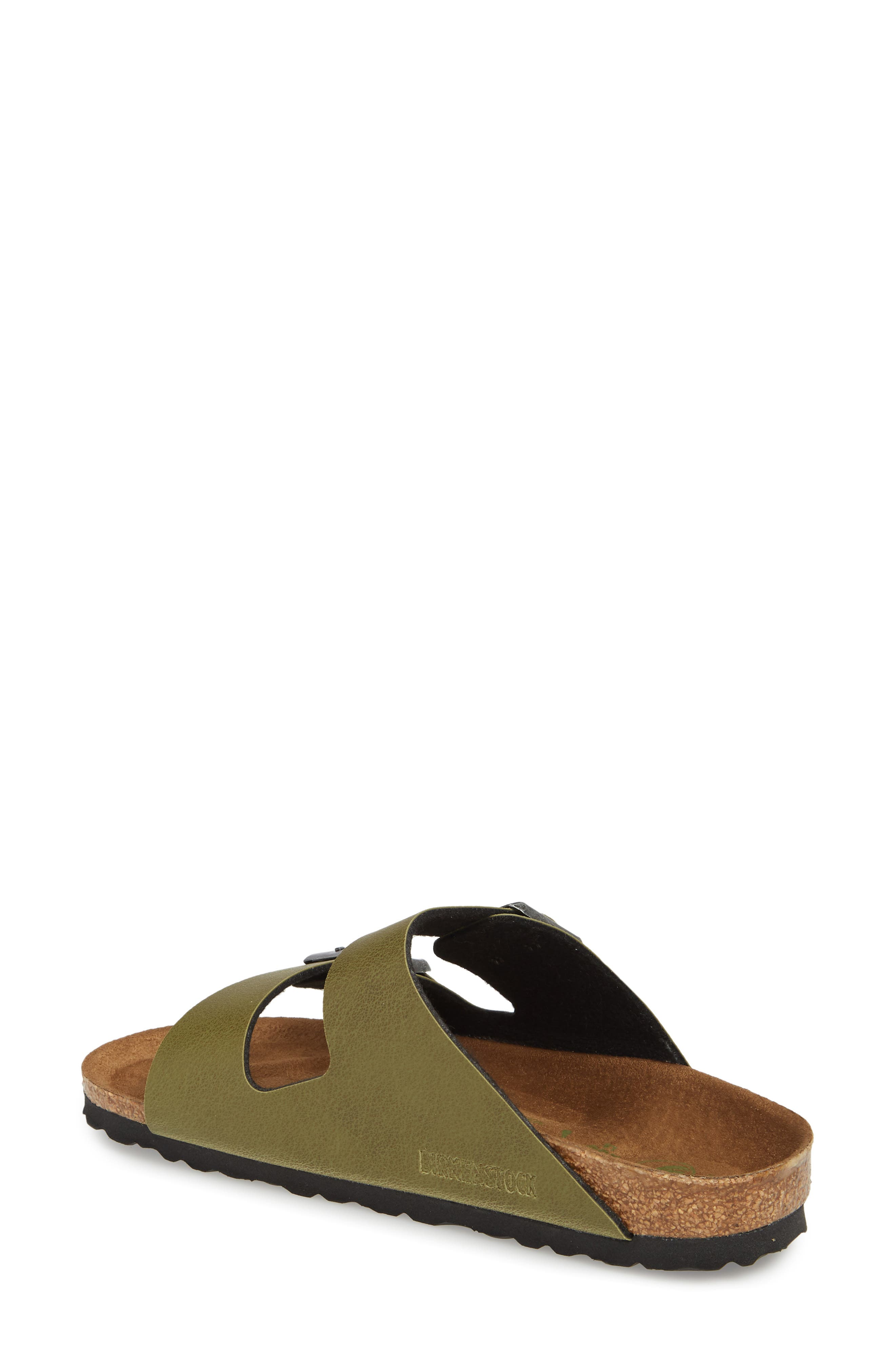 Alternate Image 2  - Birkenstock Arizona Birko-Flor™ Slide Sandal (Women)