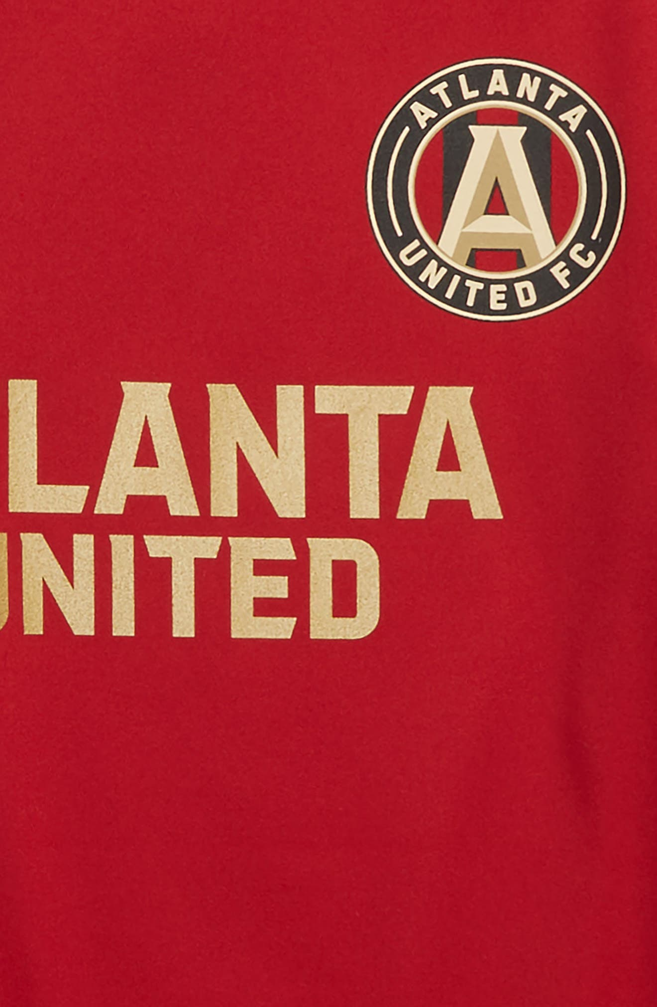 MLS Atlanta United FC Primary Logo Graphic T-Shirt,                             Alternate thumbnail 2, color,                             Victory Red