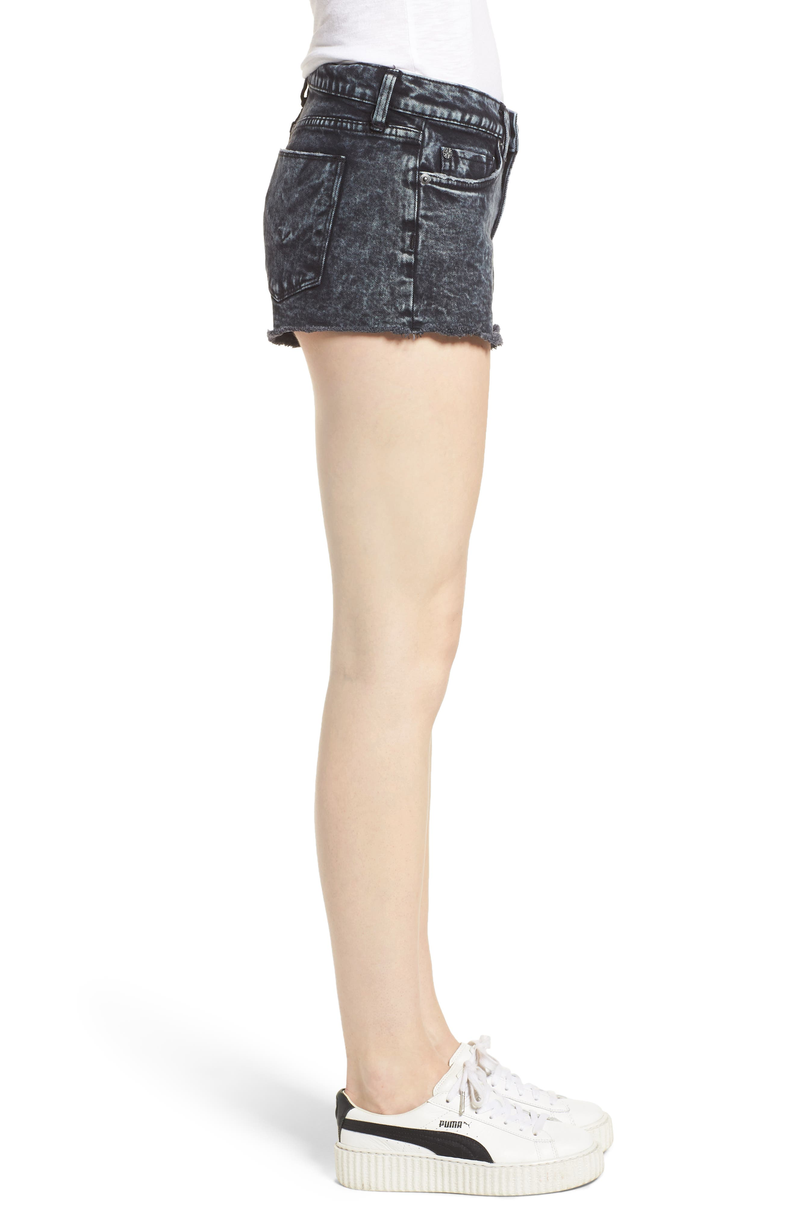 Kenzie Cutoff Jean Shorts,                             Alternate thumbnail 6, color,                             Dainty