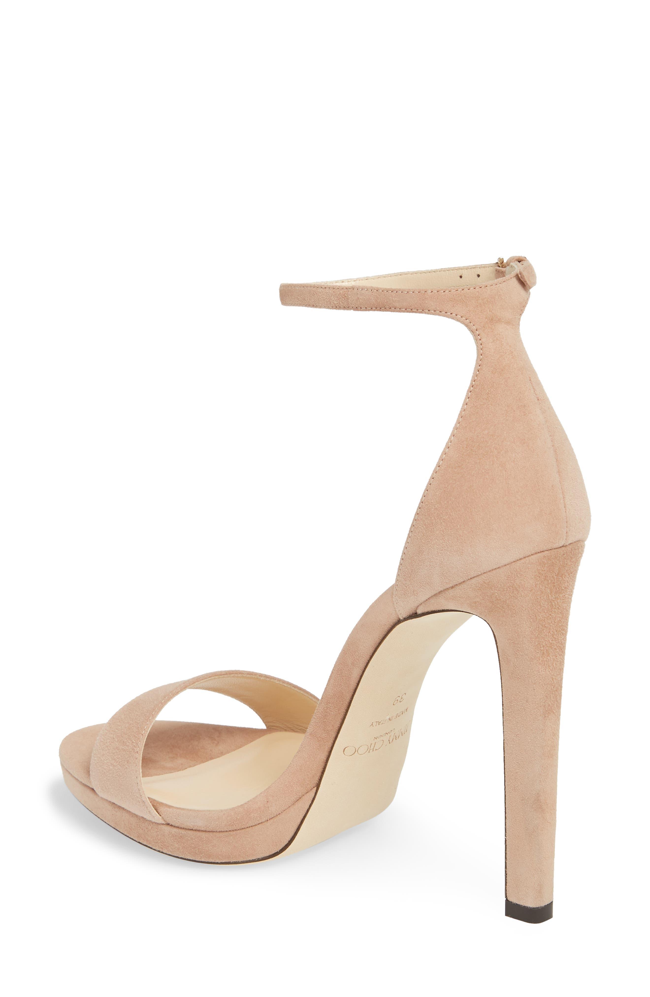 Misty Platform Sandal,                             Alternate thumbnail 2, color,                             Ballet Pink