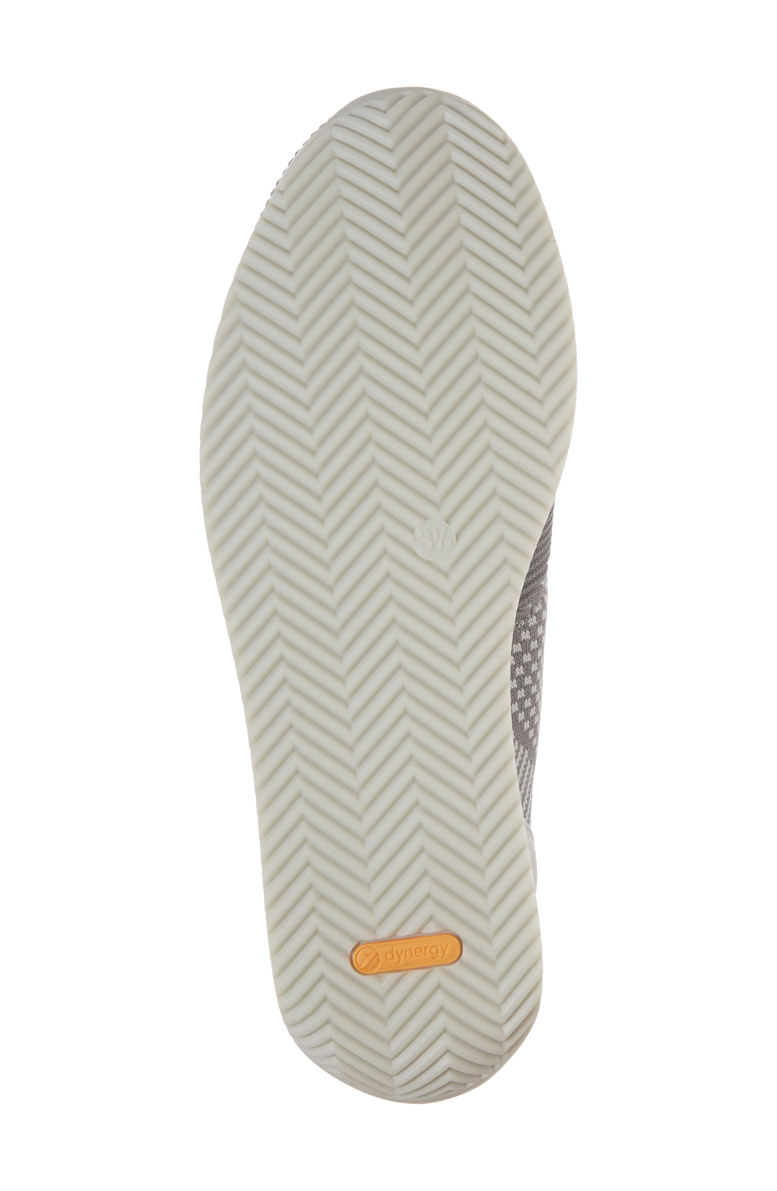 Lilly Sneaker,                             Alternate thumbnail 6, color,                             Grey Fabric