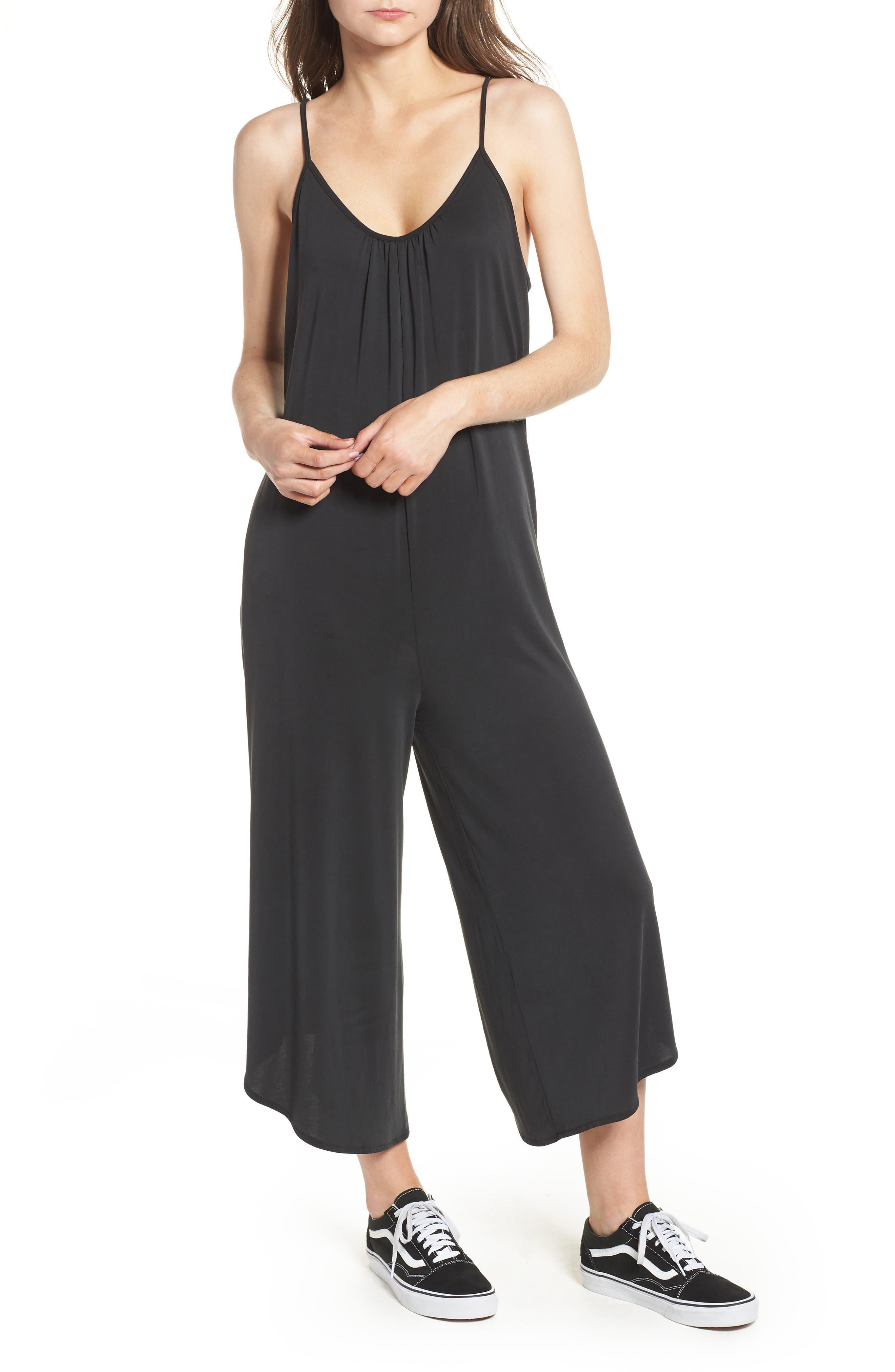 Jessa Jumpsuit,                         Main,                         color, Black